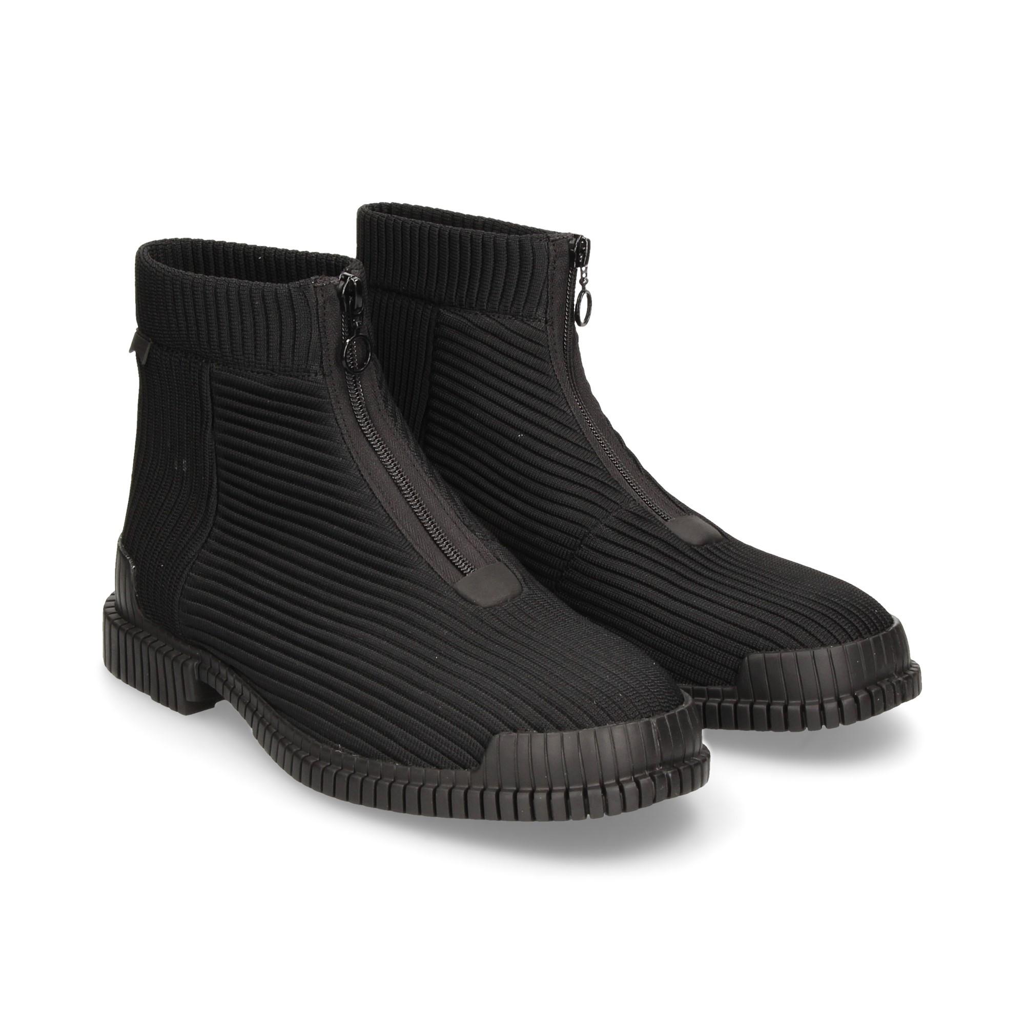botin-textil-negro