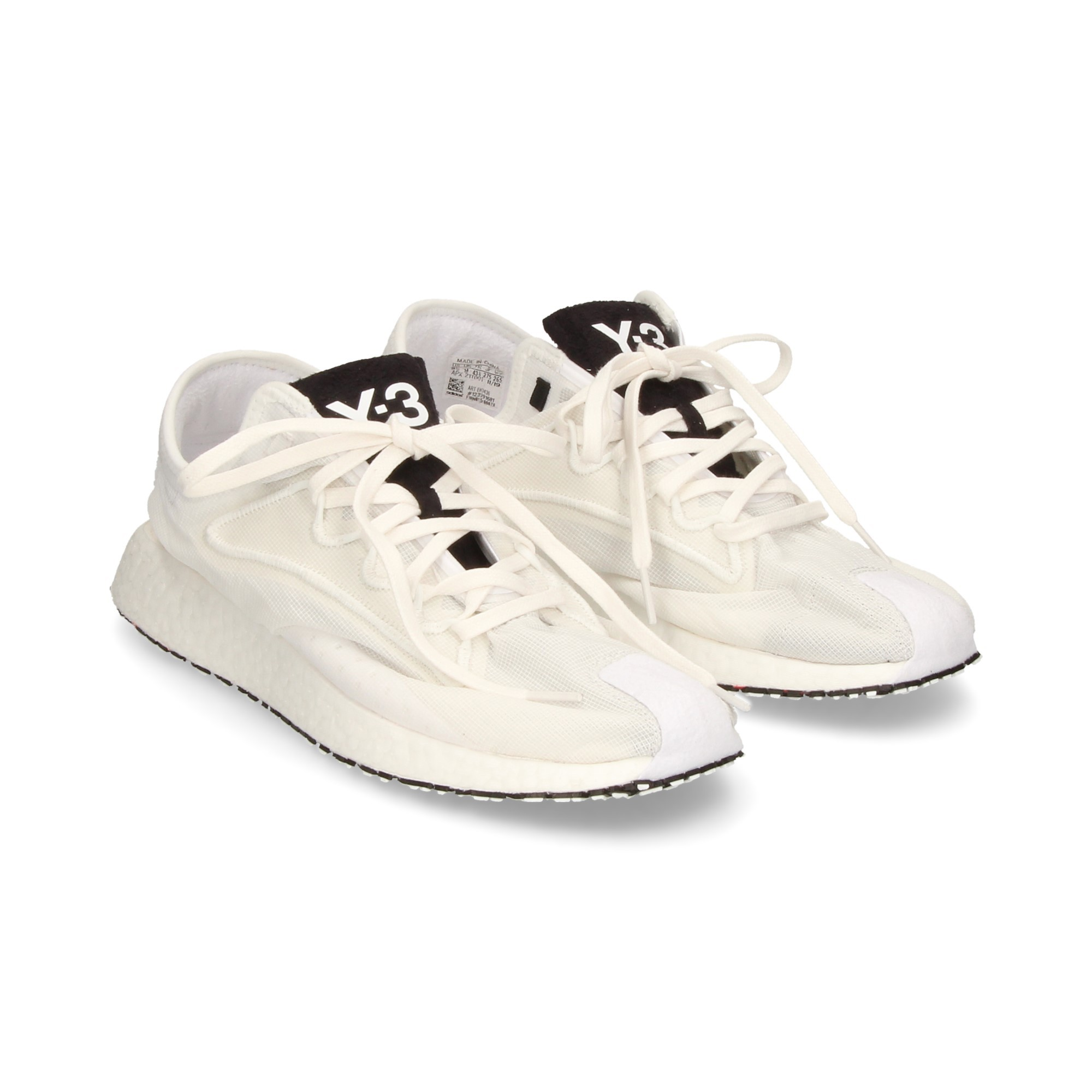 Adidas Y 3 Scarpe Sportive Raito Racer Bianco Uomo Scarpe da