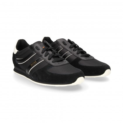 SPORTY NYLON LACES/BLACK FRONT