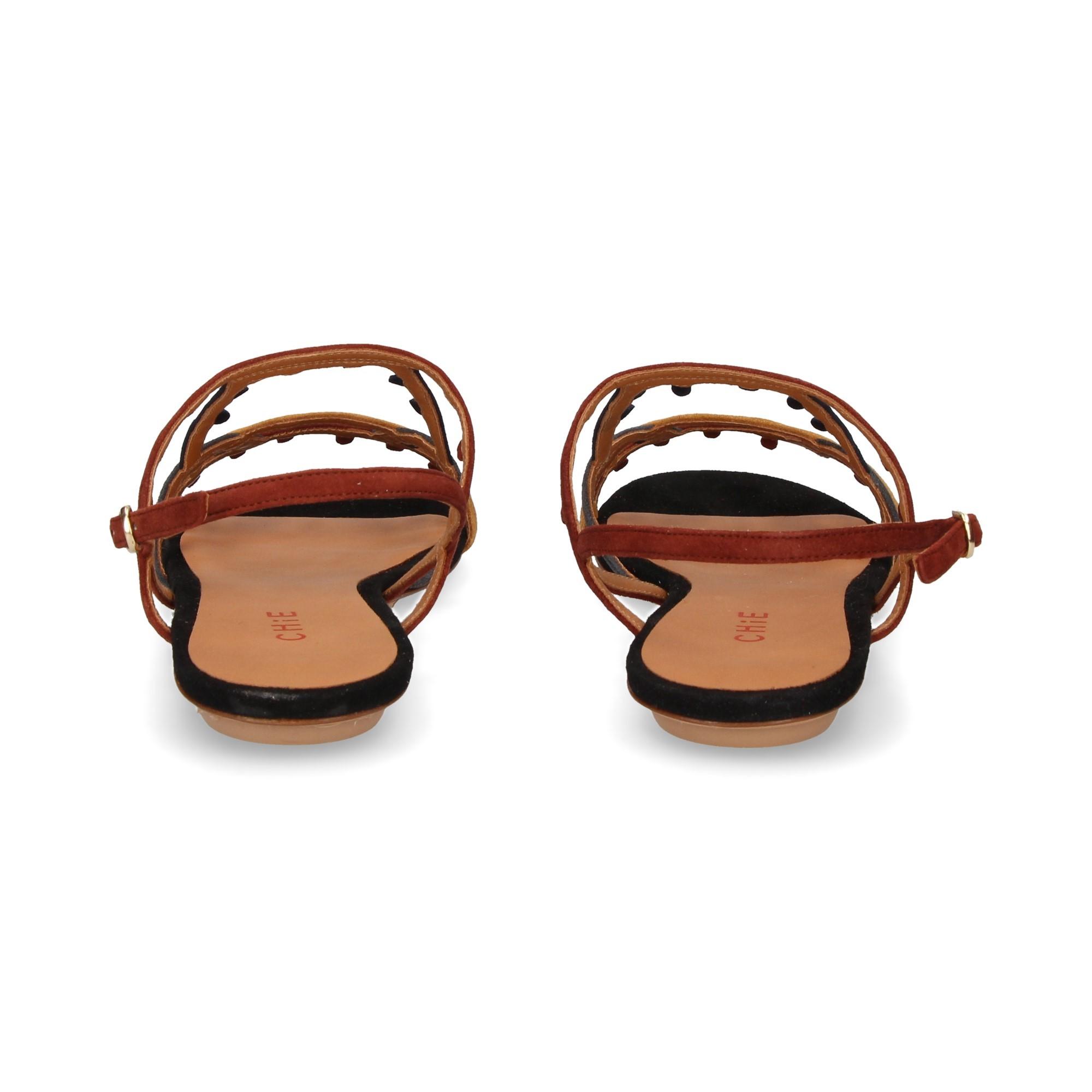 Femmes Marron Chie Yamal Plates Mihara Multi Sandales Pour 0OXwP8nk