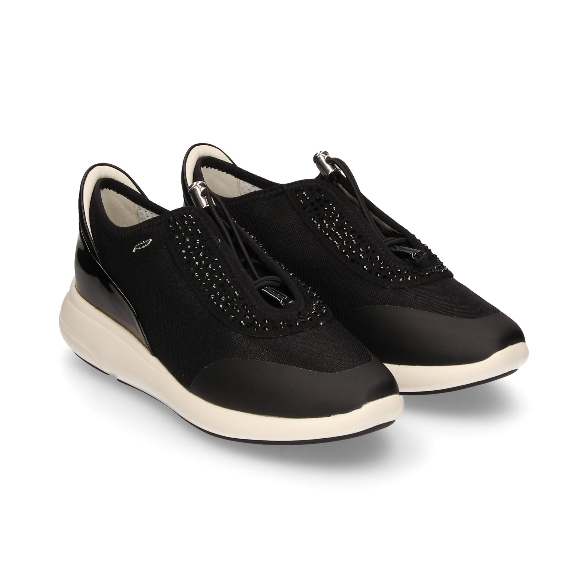 Conmoción Es mas que Murciélago  GEOX Zapatillas de Mujer D621CE C0595 BLACK