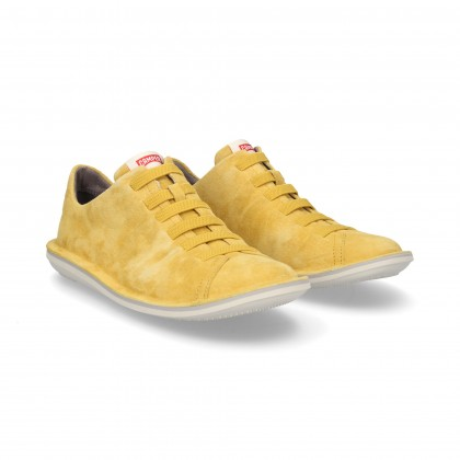 SPORTY YELLOW SUEDE VEINS