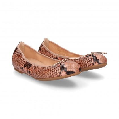 REPTILE BOW DANCER PINK