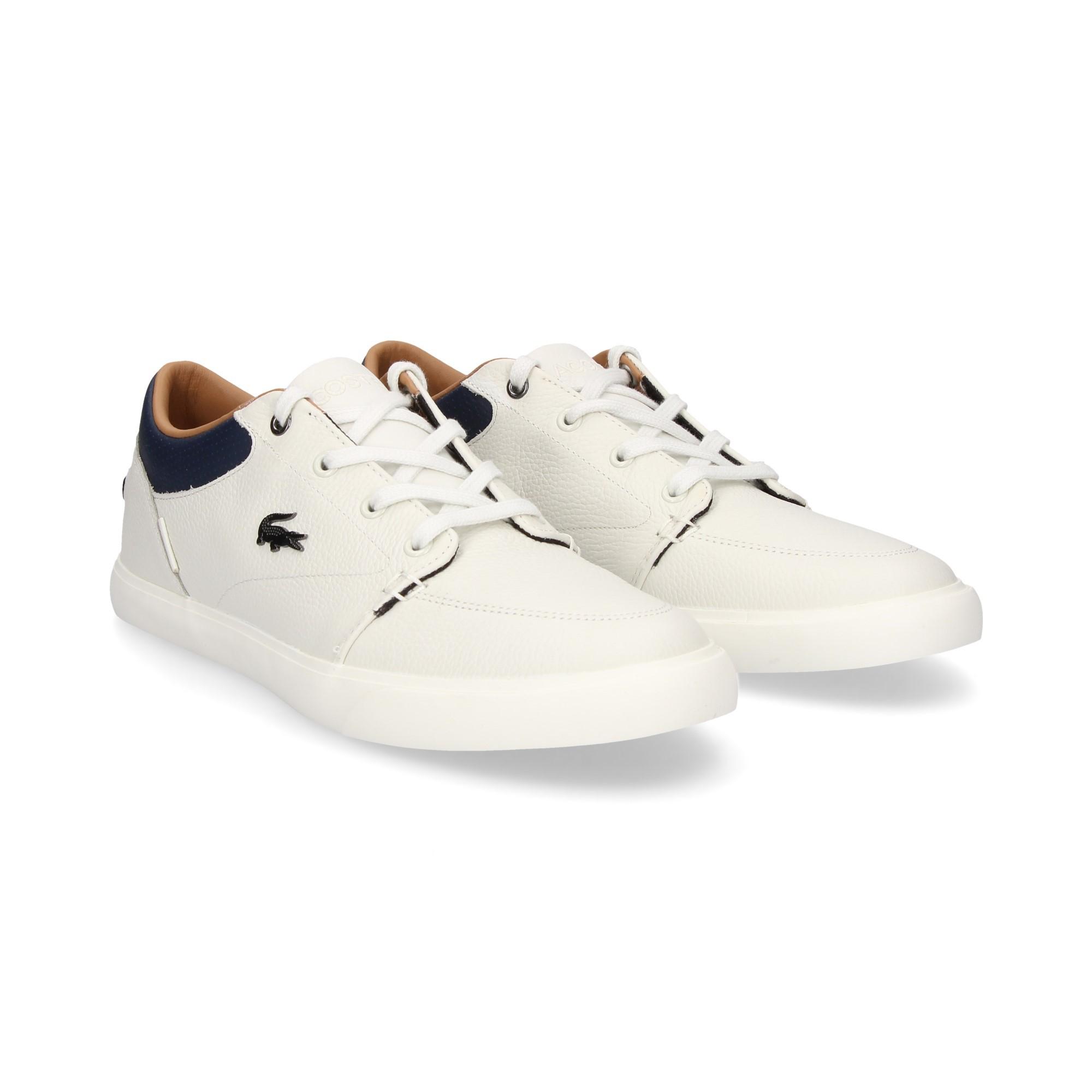 LACOSTE Men s sneakers 35CAM0006 WN1 BLANCO 6a53e4c017