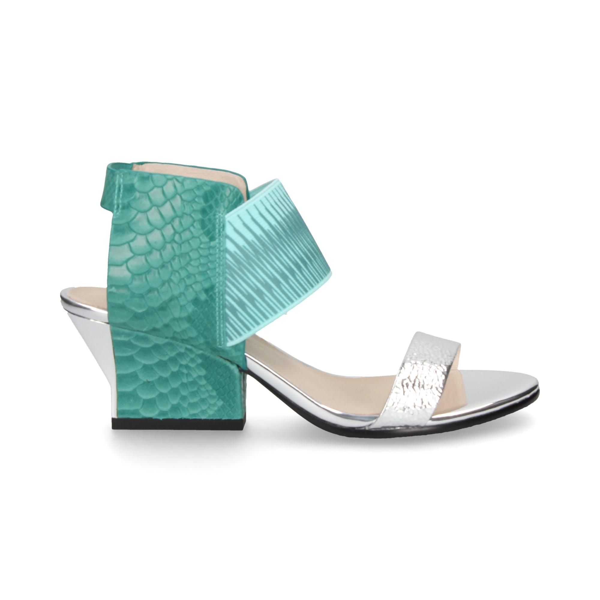 Sandały UNITED NUDE - Icon Flow 10288141113 Silver