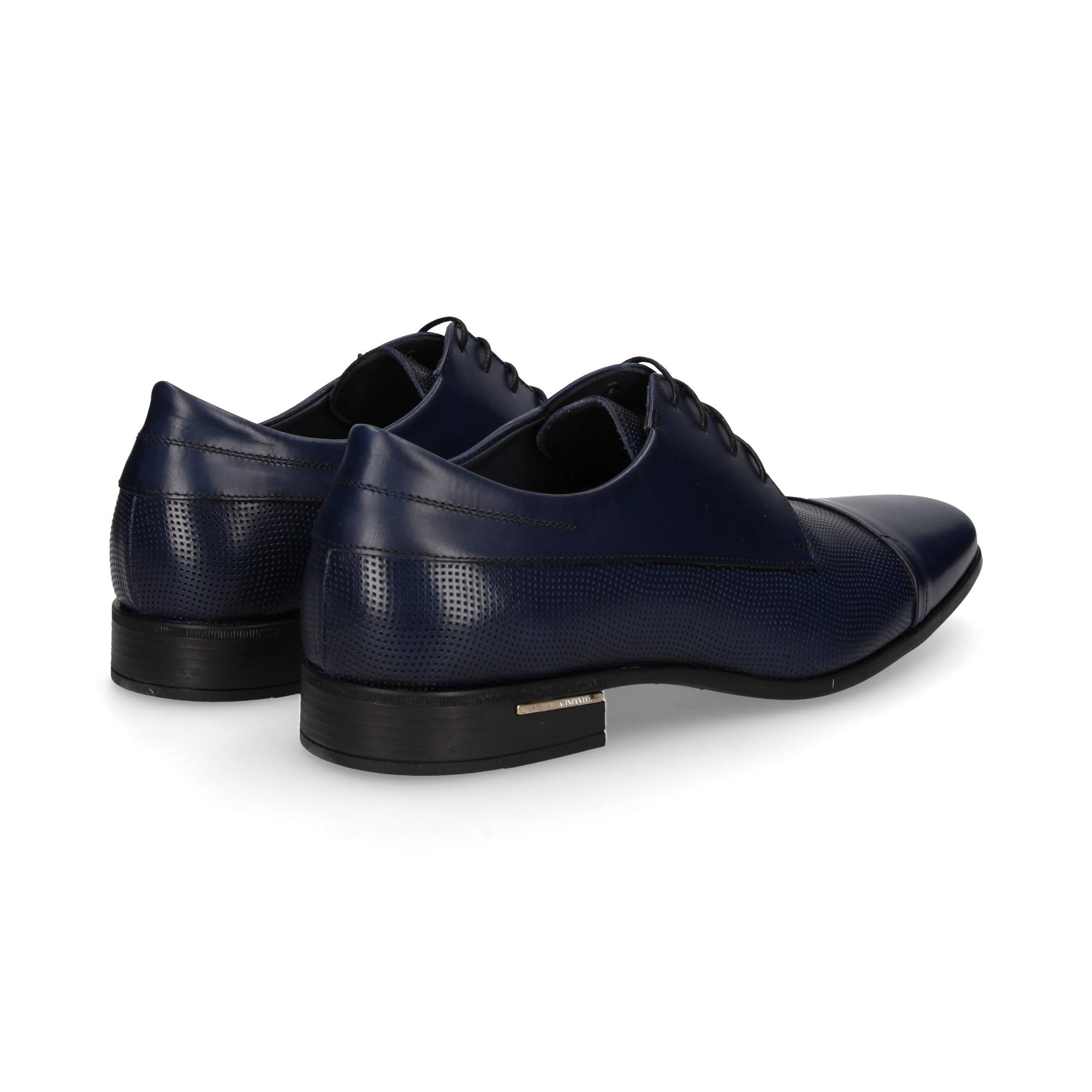 b64a4981abe ANGEL INFANTES Zapatos de vestir de Hombre 05113-1C AZUL