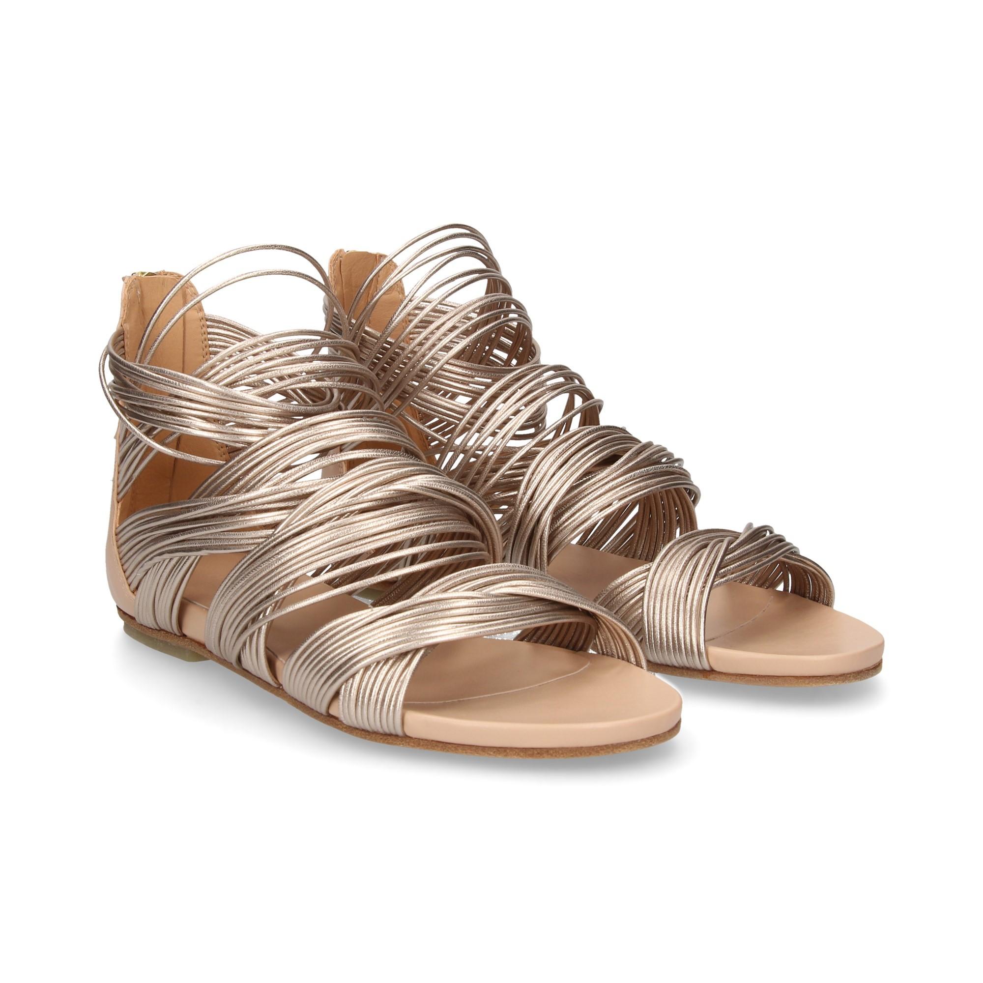 Womens Sandalia Piel Boots Beige Beige 6 Victoria qTK3dZ
