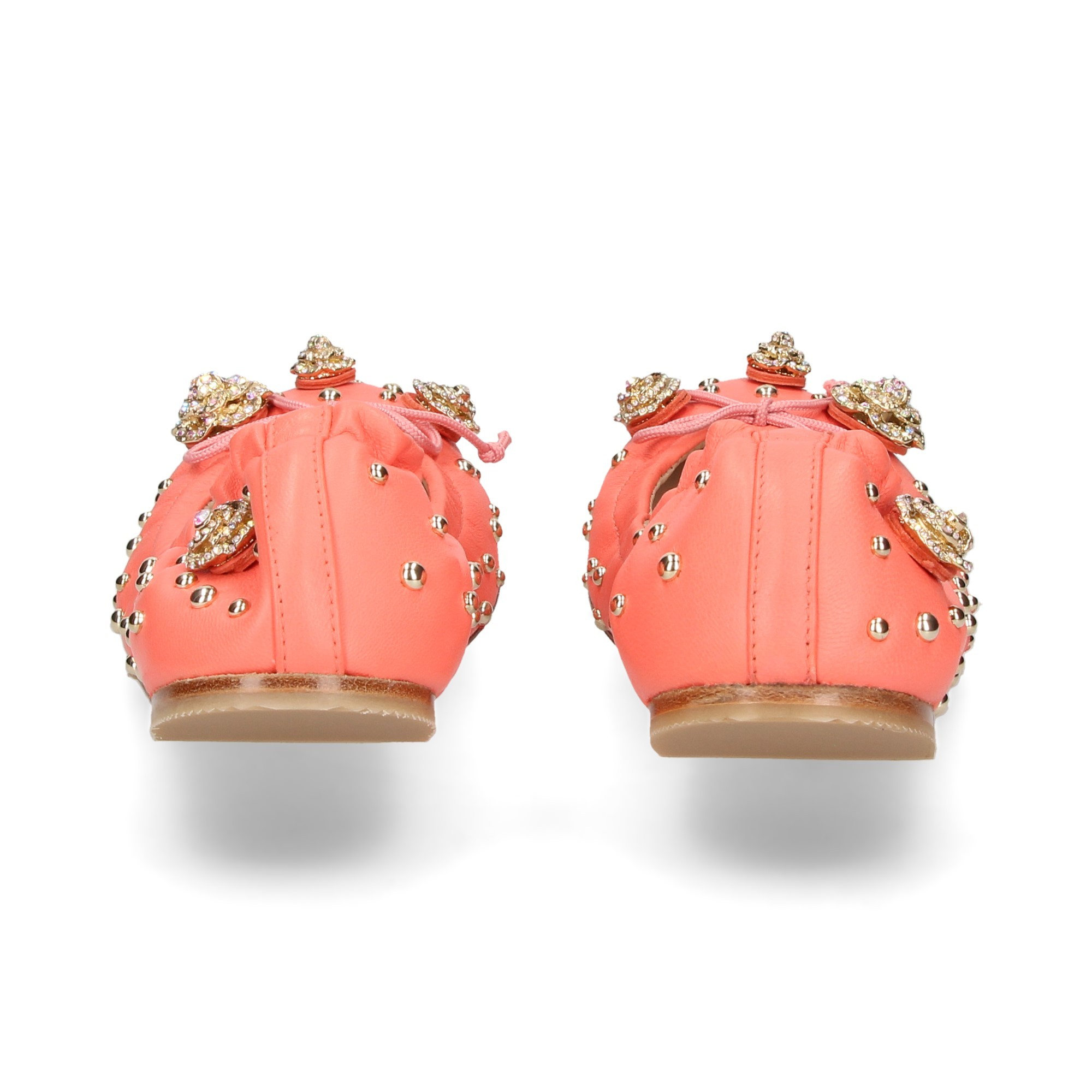 bailarina-tachuelas-lazo-piel-coral