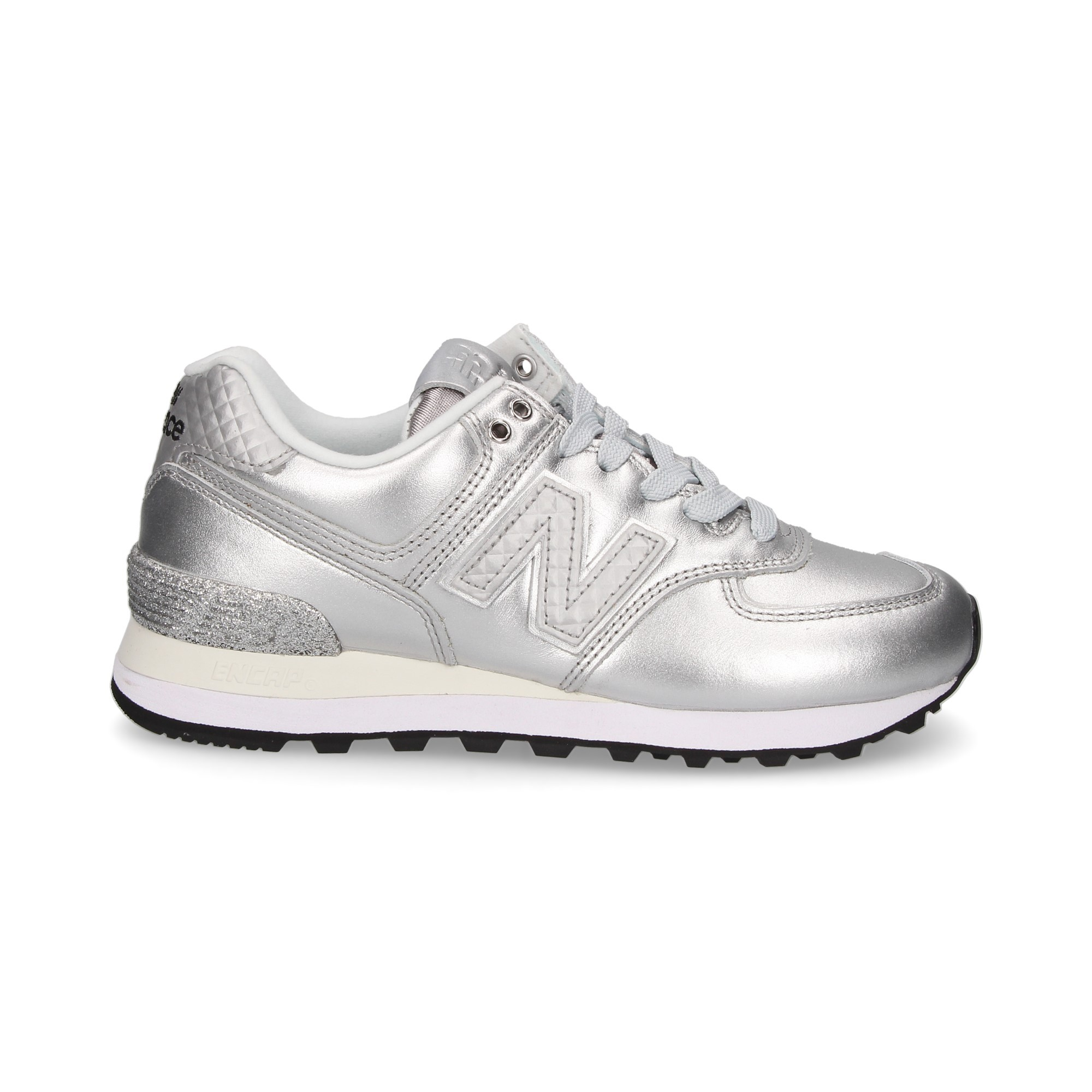 check-out b2902 975d1 NEW BALANCE Women's Sneakers 574 NRI PLATINO