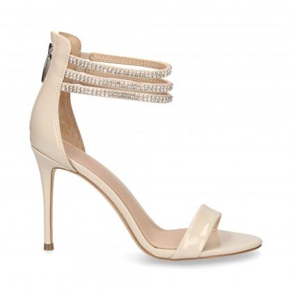 GUESS Sandales à talons pour femmes FLTR42FAP0 LEOPARDO NEGRO