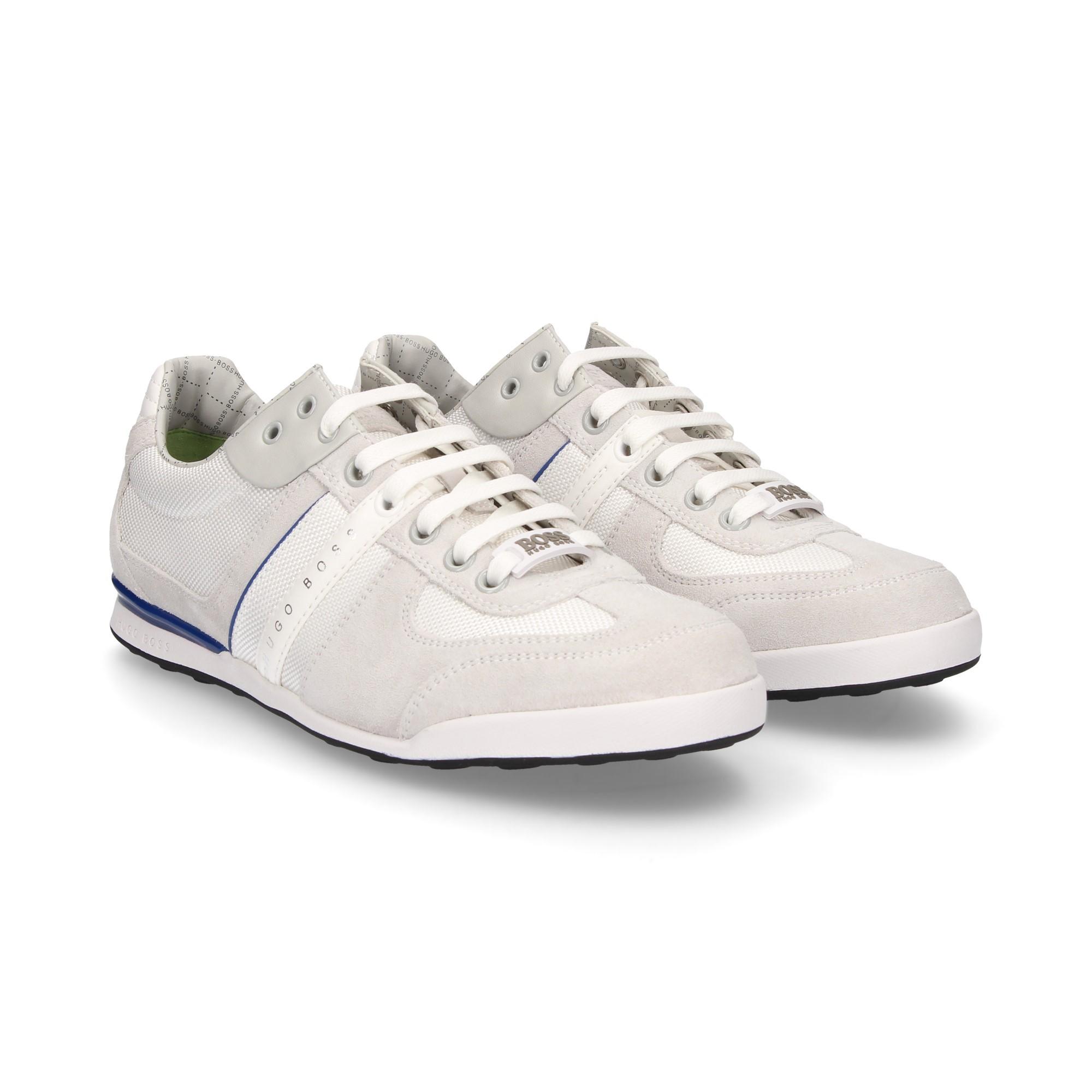 c3b137bde51 HUGO BOSS Men's sneakers AKEEN 118 OPEN WHITE