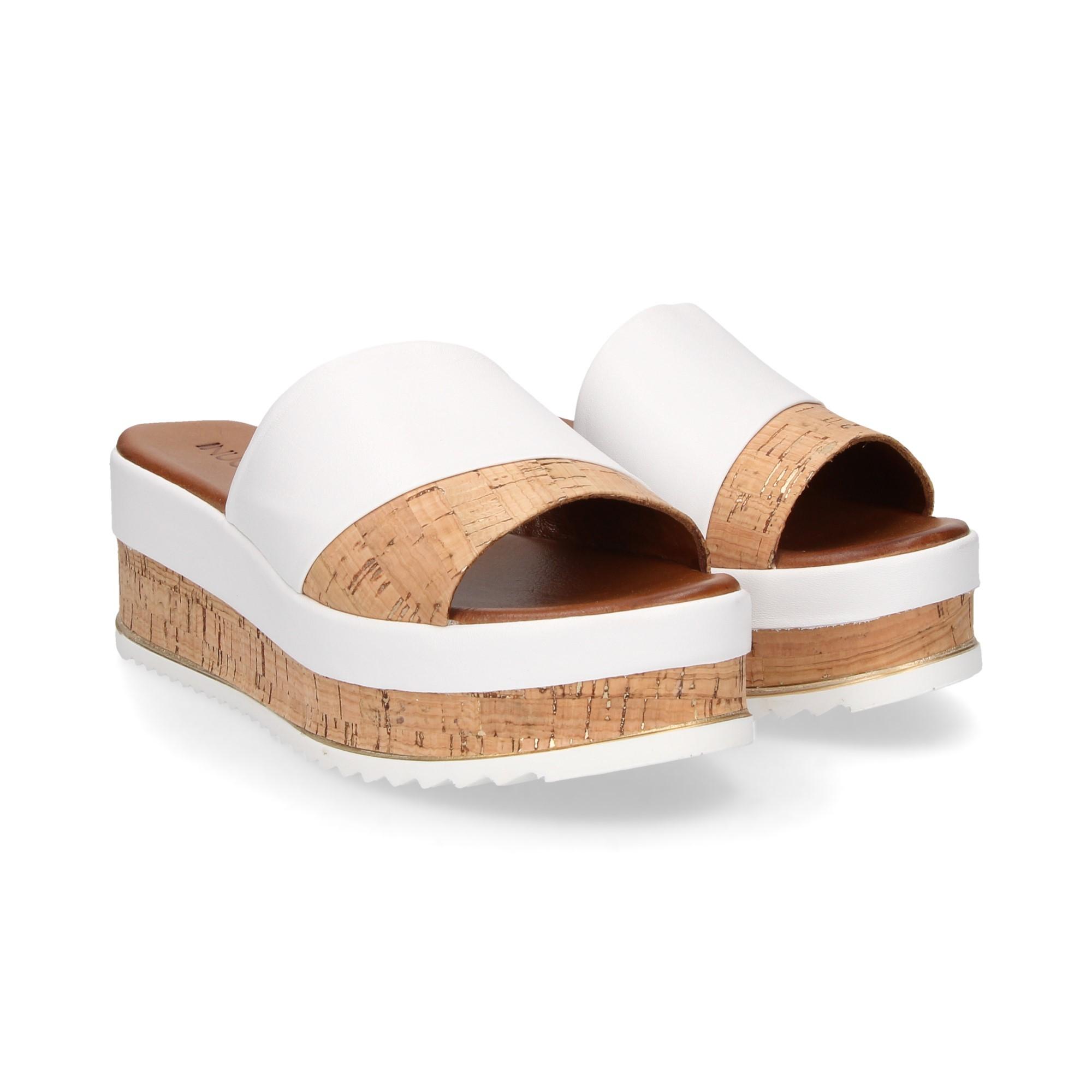 Femmes 8843 Blanco Inuovo Compensées Pour Sandales rxBoWEQCed