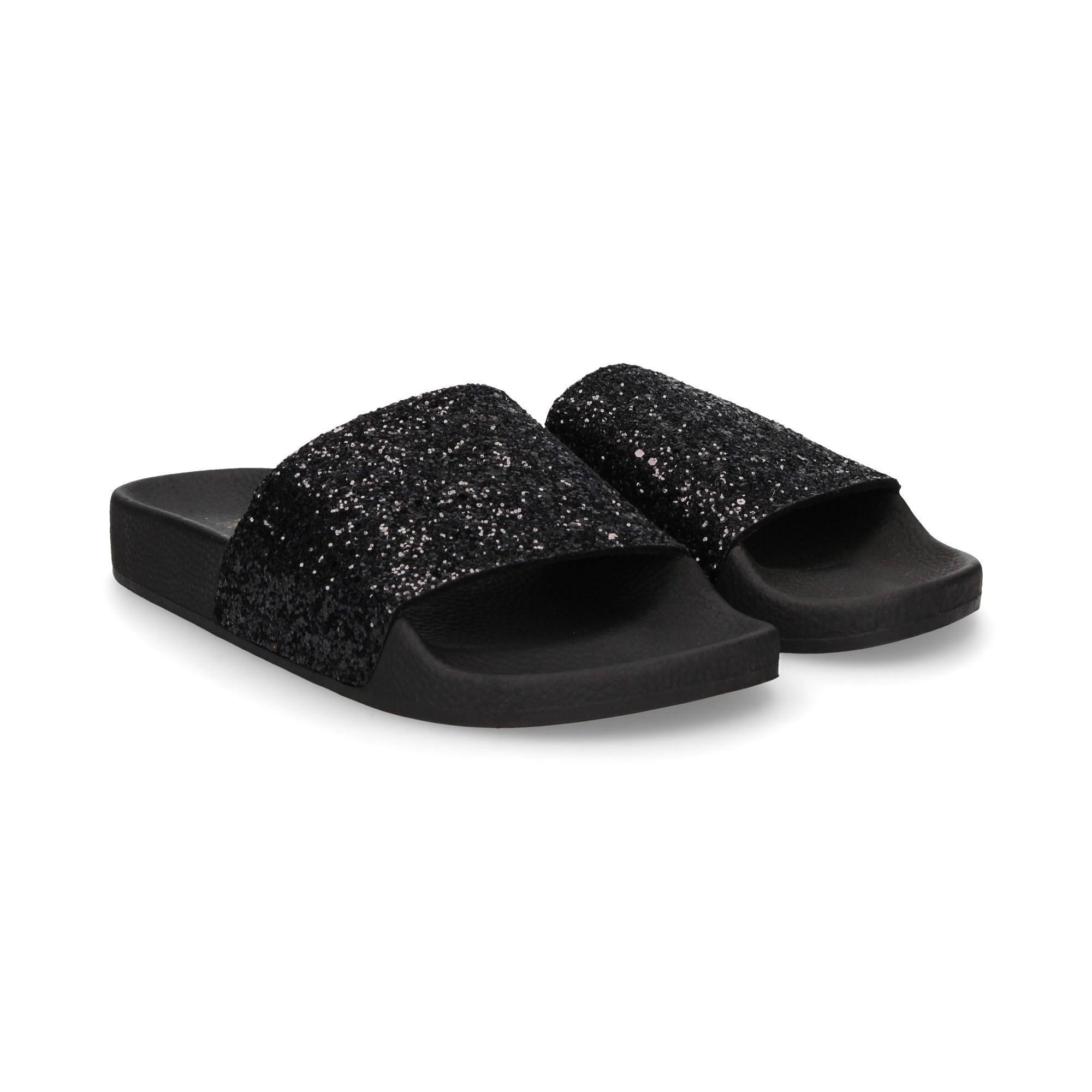 Damen L0020 Brand Negro White Flache Für Sandalen The nv0wP8ymNO