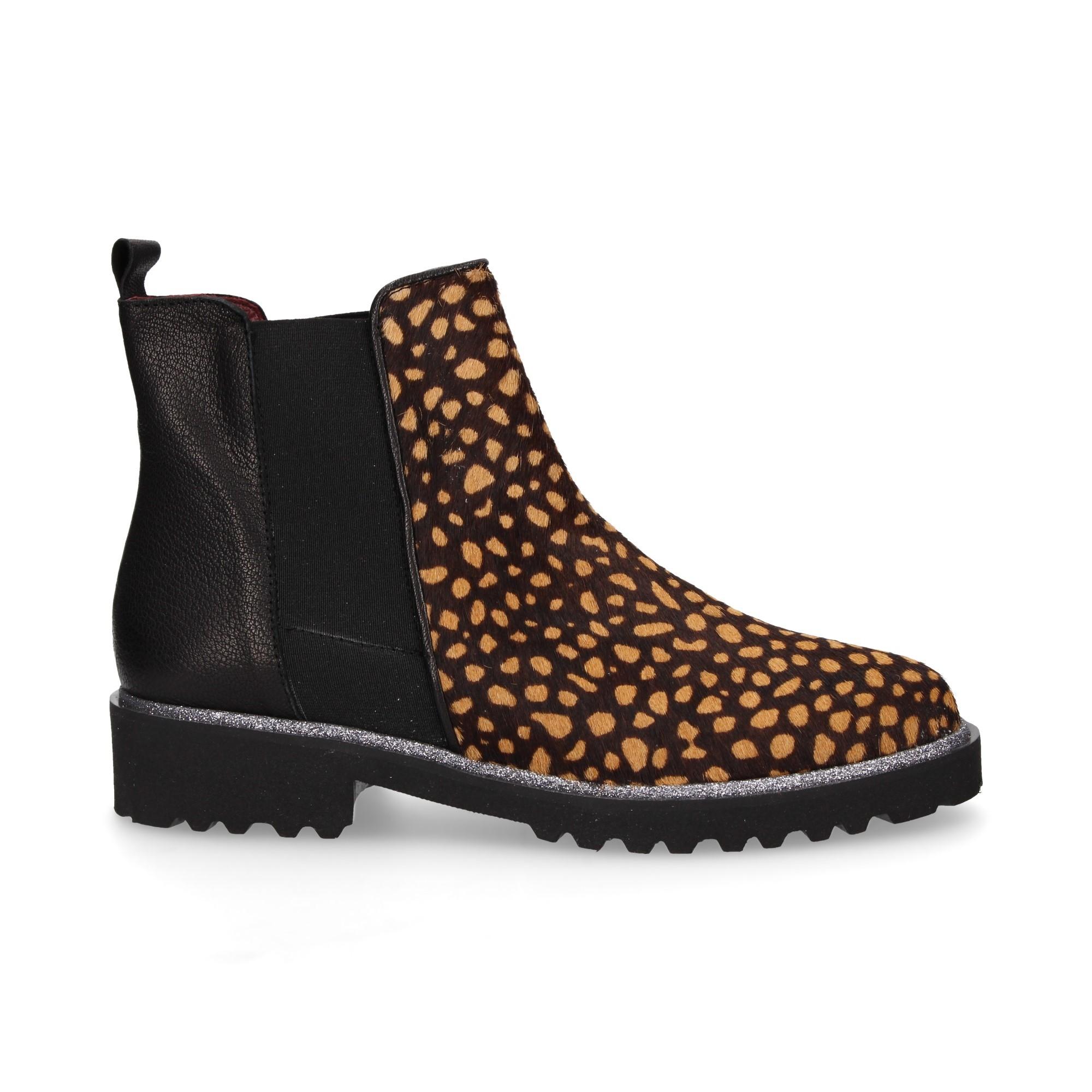 botin-elastico-potro-leopardo-piel-negro