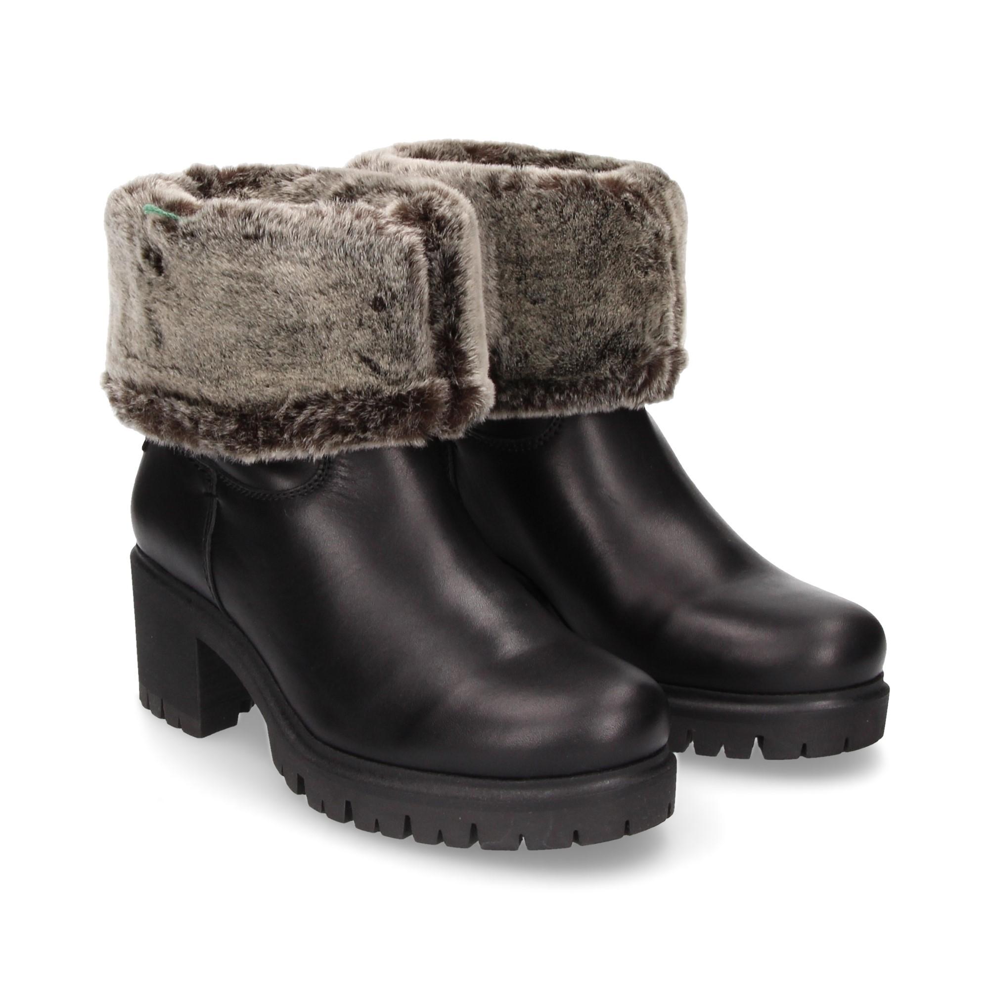 12681e3dc72782 PANAMA JACK Ankle boots mit Absatz für damen PIOLA B14 NEGRO