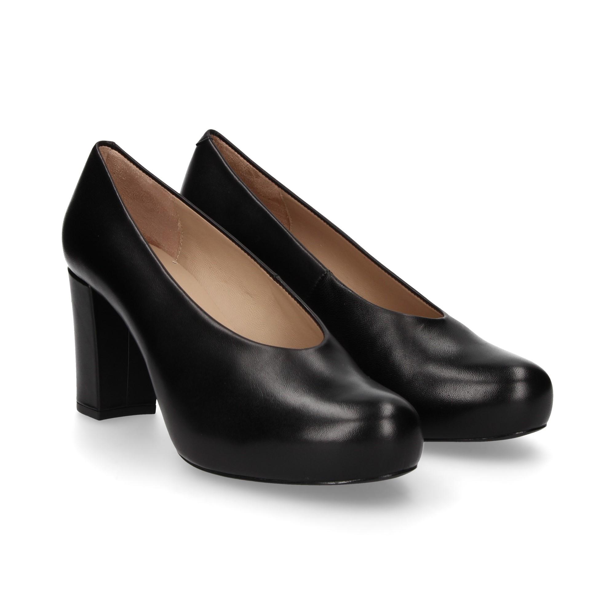 Zapatos Nebula Unisa Salón Black De f1 Negro n08PwkXNO