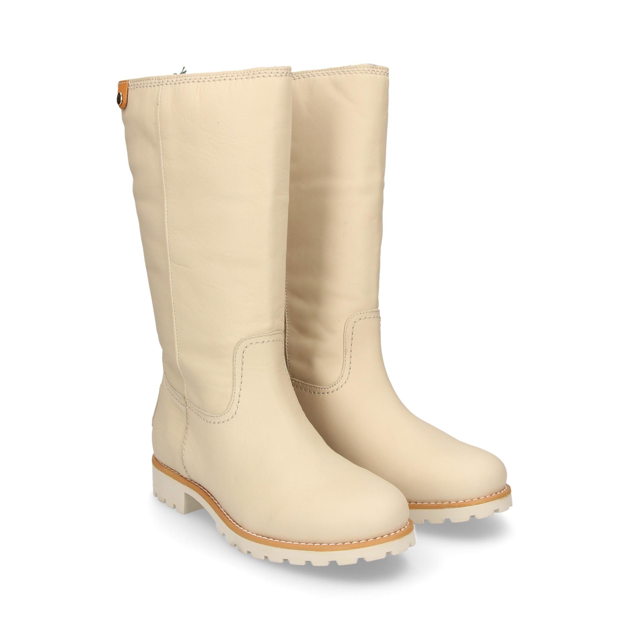 b7f61a92172f0 PANAMA JACK Women s flat boots BAMBINA IGLOO B1 BLANCO