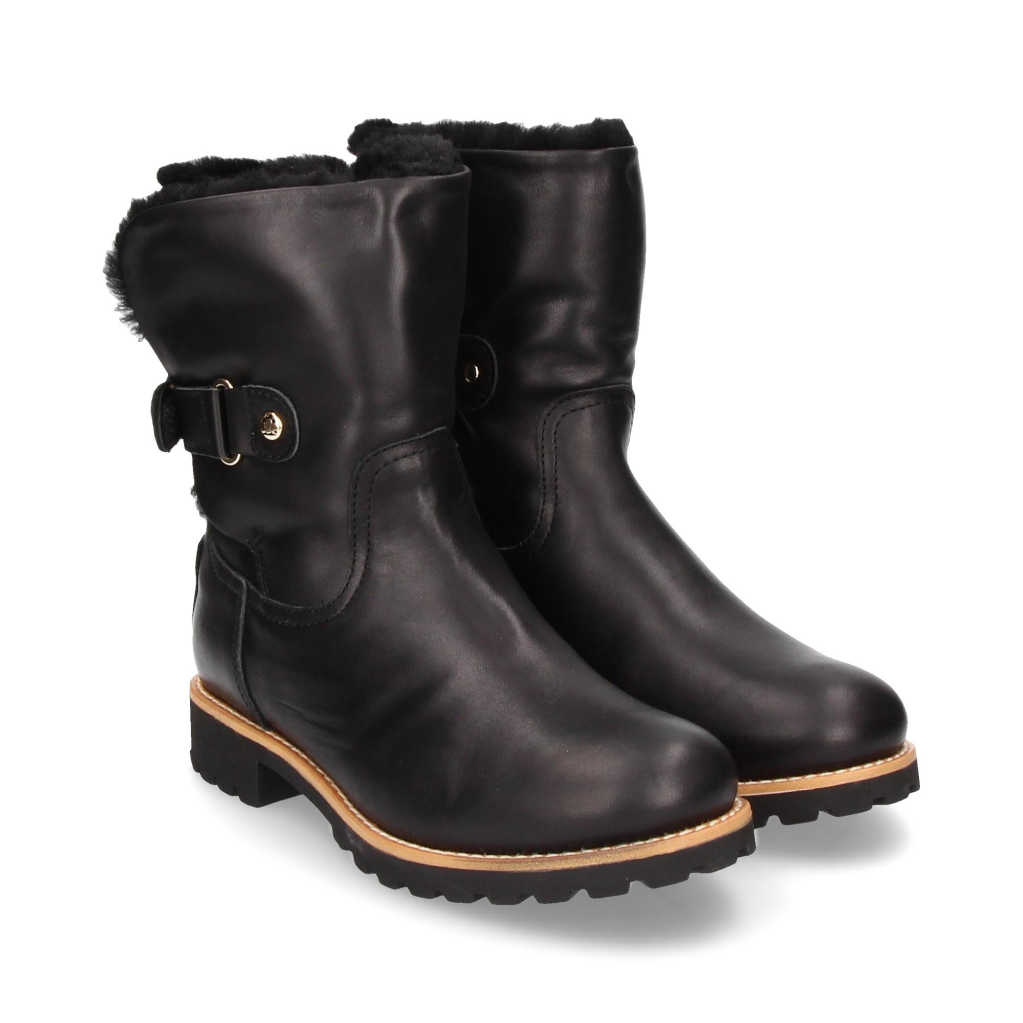 5807d4f8e97 PANAMA JACK Women s flat ankle boots FELIA IGLOO B2 NEGRO