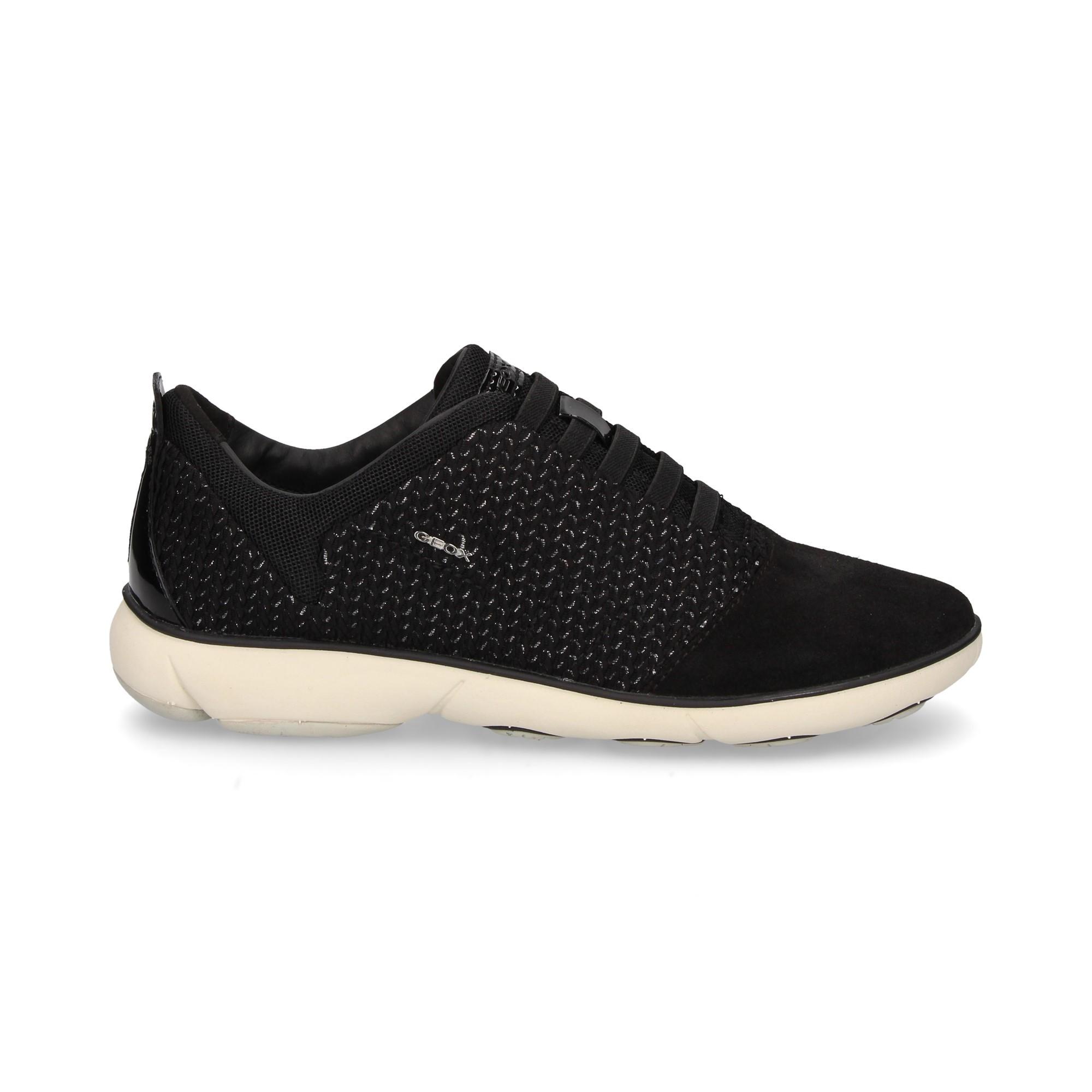 a7e0de0d081af1 GEOX Chaussures de sport pour femmes D621EC C9999 NEGRO