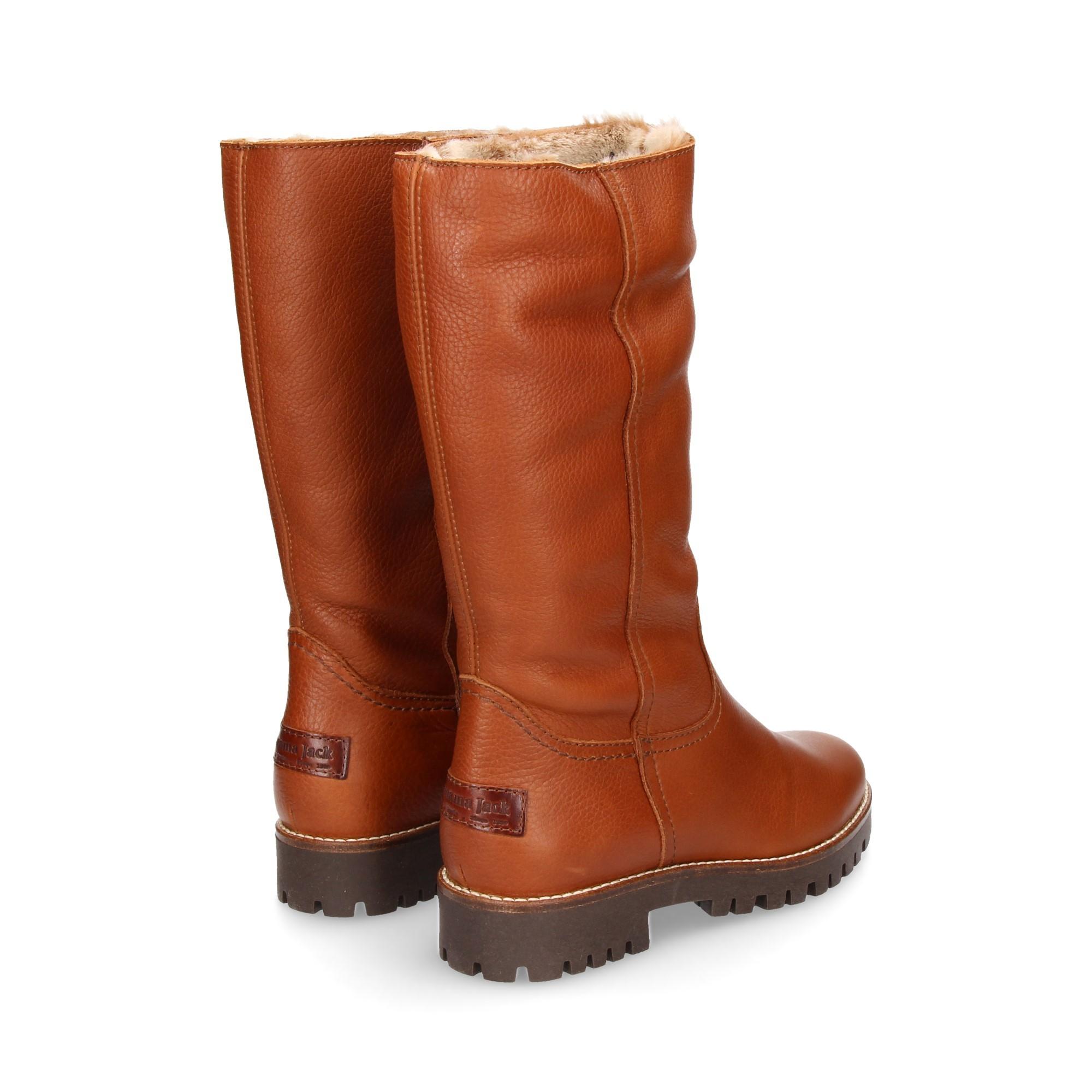 76da3a5c4efc68 PANAMA JACK Women s flat boots TANIA B22 CUERO