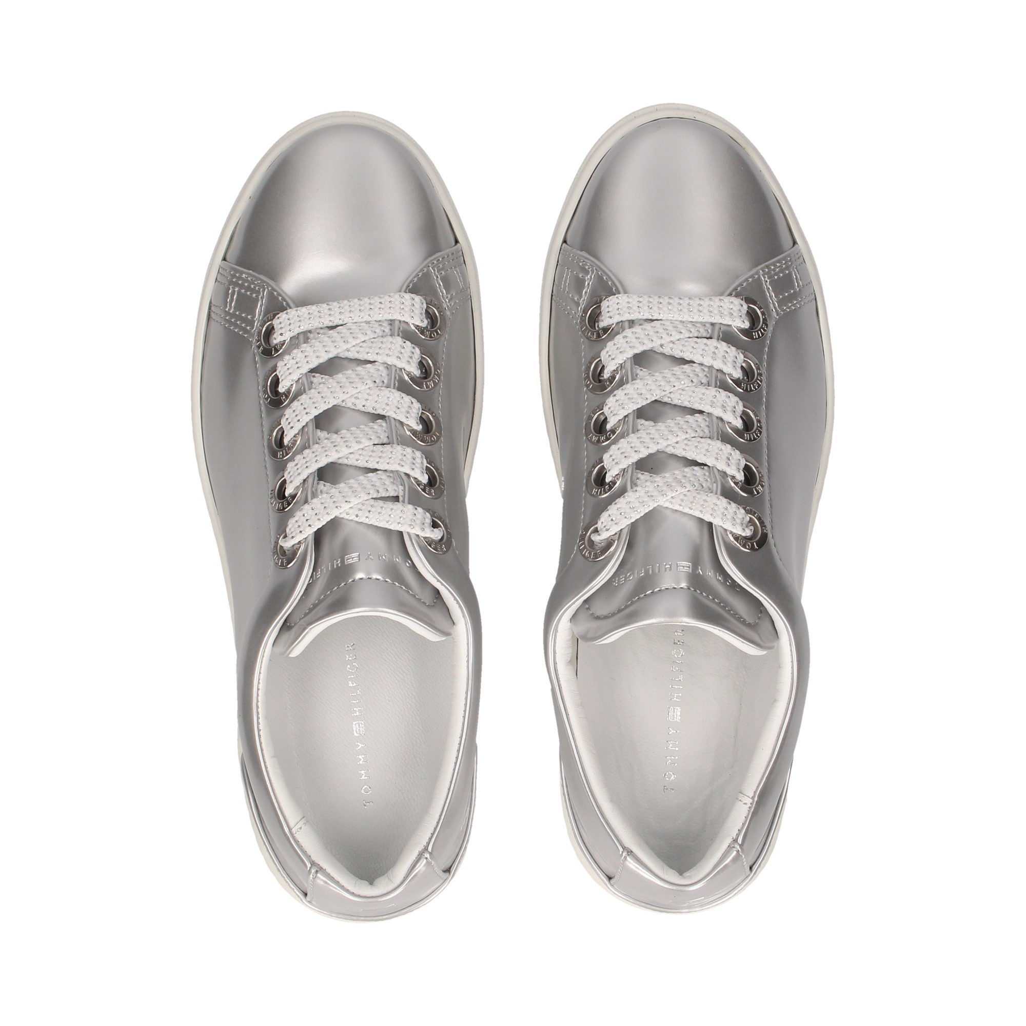 d69fed786a76f TOMMY HILFIGER Women's Sneakers FW03478 000 PLATA