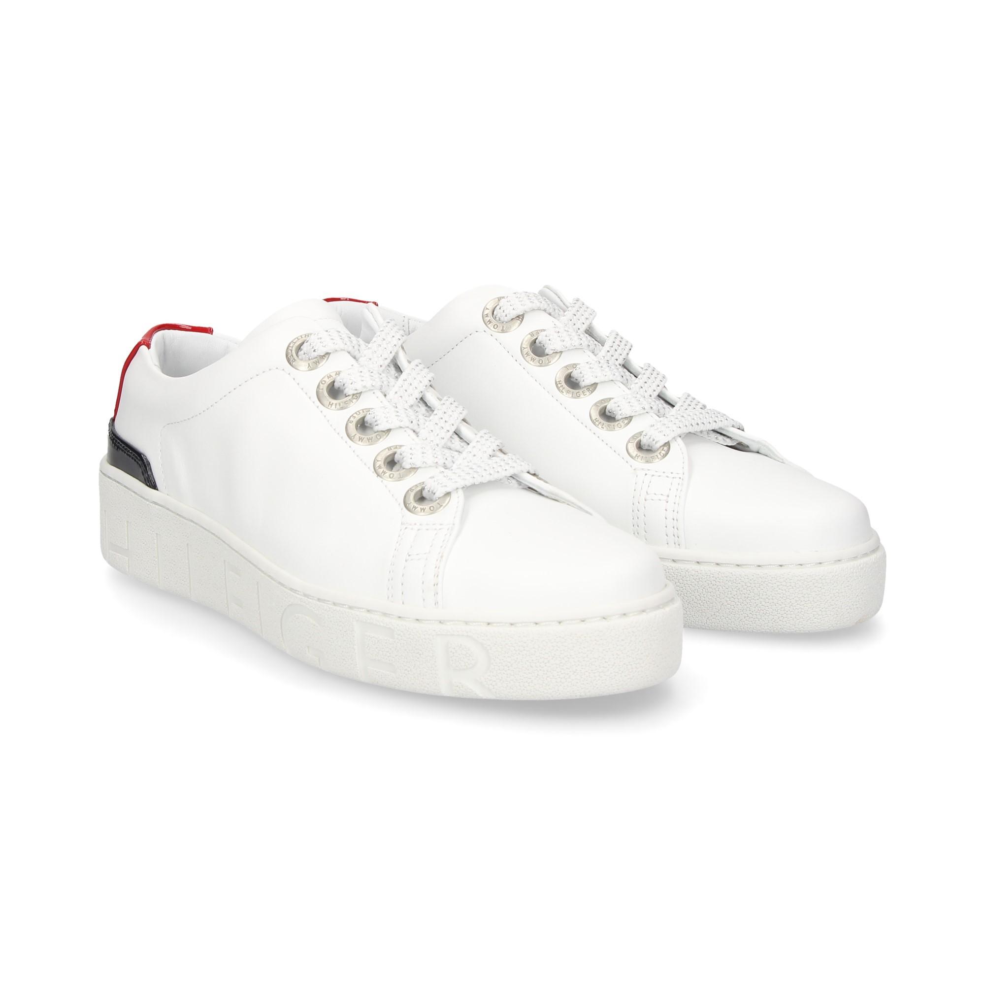 85bba0c923cec TOMMY HILFIGER Women's Sneakers FW03343 020 RWB