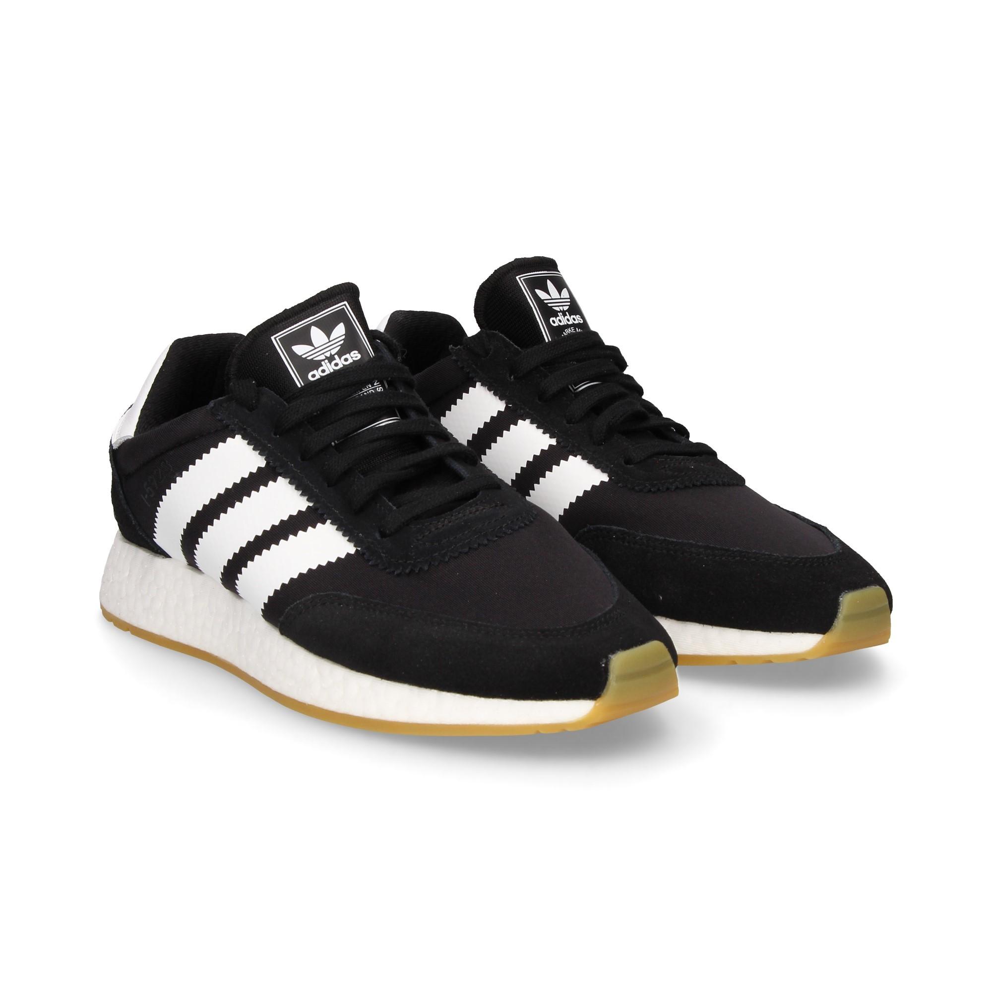 5923 Zapatillas Basico De Adidas I Negro Hombre 4R35ALqj
