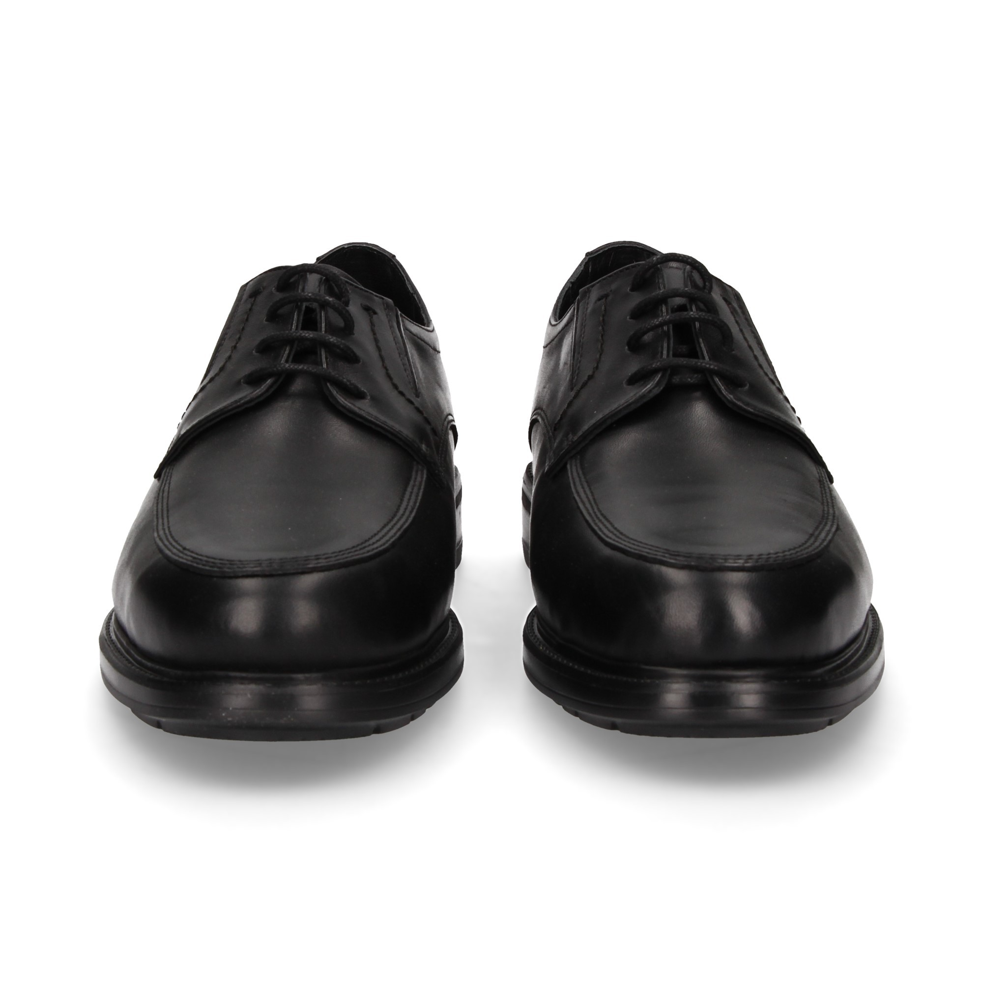 24 HORAS Men's formal shoes 10456 NEGRO 19109f0cdee5
