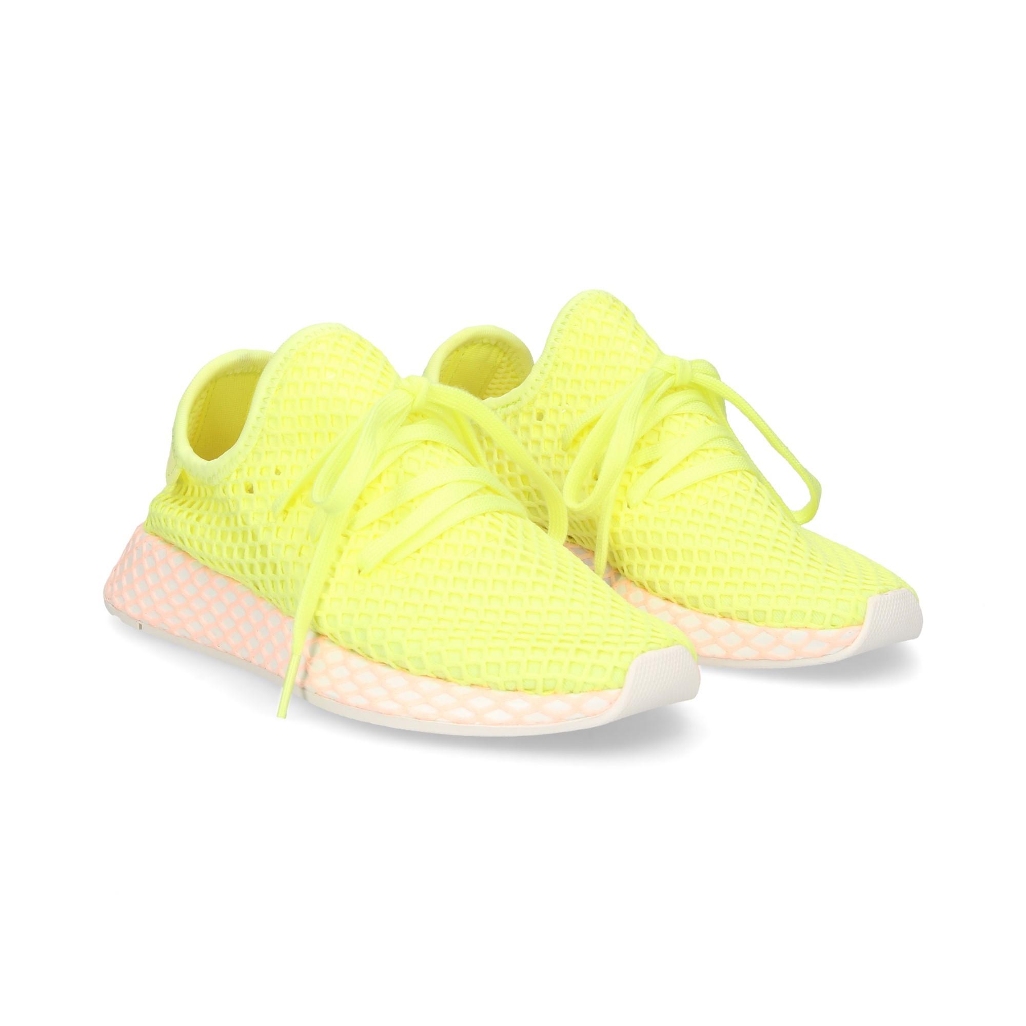 best sneakers a2652 a7787 ... deportivo-malla-amarillo ...