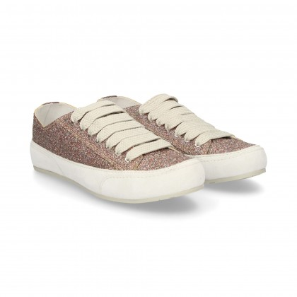 SPORTY MULTI-PINK GLITTER LACING