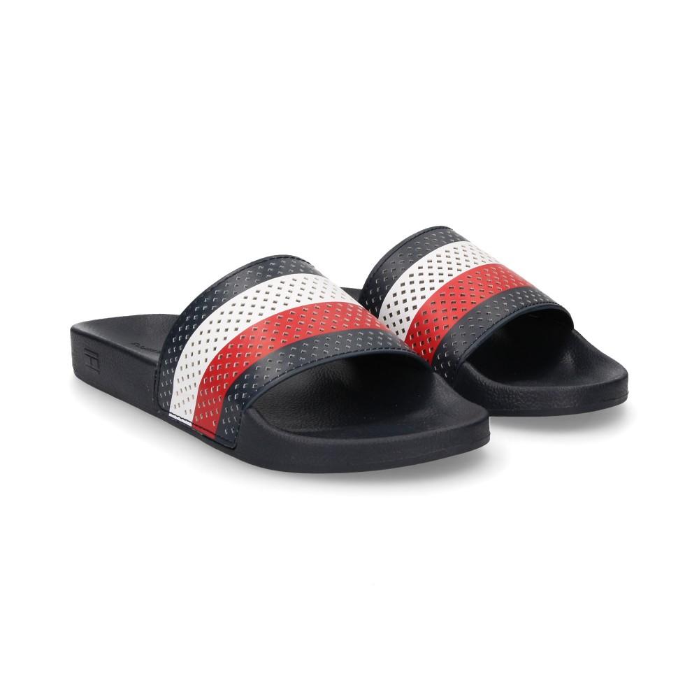 2d6b70cf7 TOMMY HILFIGER Men s sandals FM01830403 MIDNIGHT