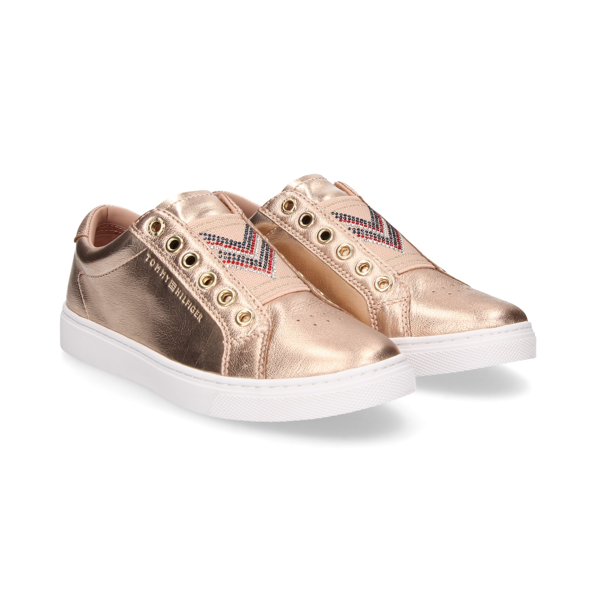 08291eb69 TOMMY HILFIGER Women's Sneakers FW03642901 ROSEGOLD