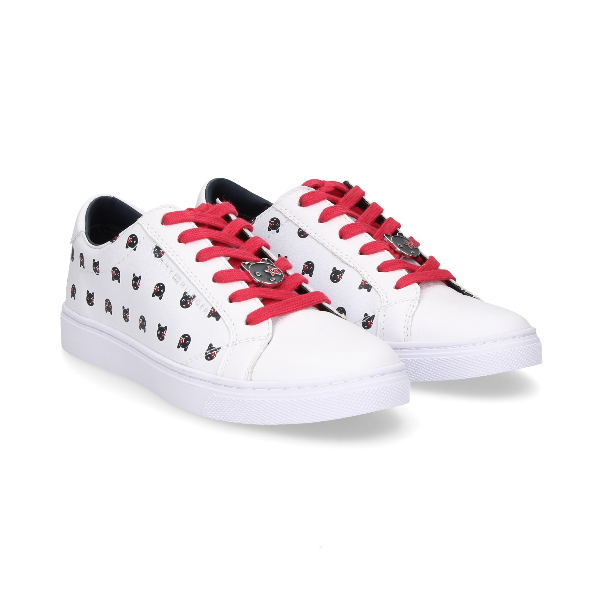 12ca631a12460 TOMMY HILFIGER Women's Sneakers FW03619100 WHITE