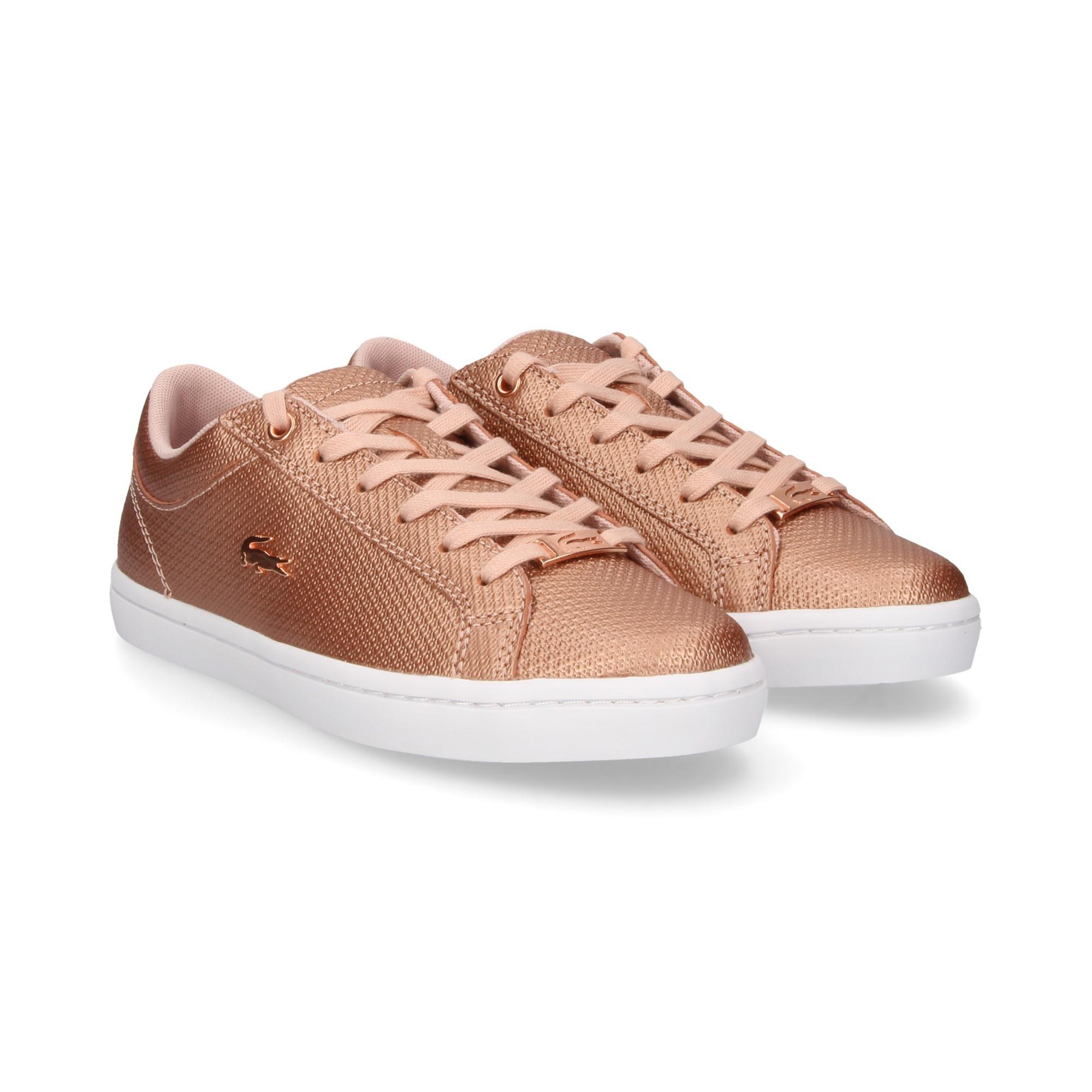 c3827178c5 LACOSTE Chaussures de sport pour femmes 36CAW0038 208 LT PNK/WHT
