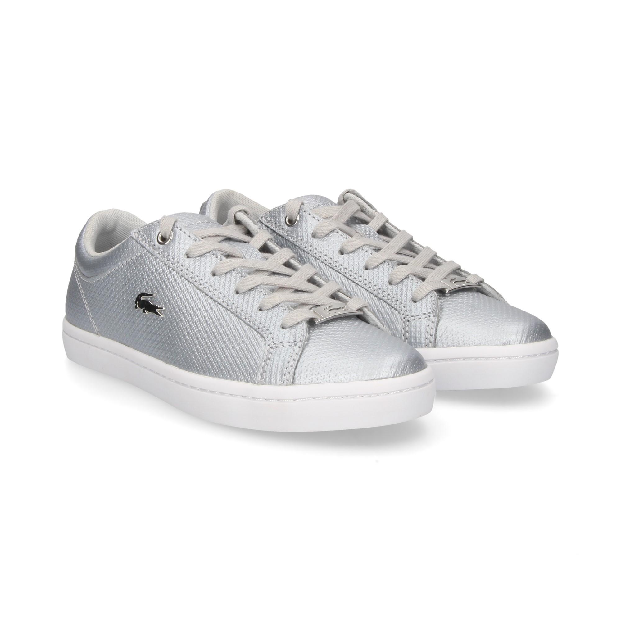 LACOSTE Women s Sneakers 36CAW0038 19L SLV WHT 75f9ea1dfc