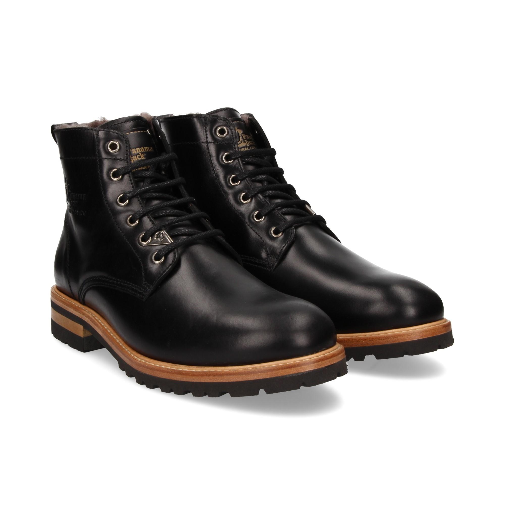 69ea4b20cdd PANAMA JACK Men s Ankle Boots EMERY C3 NAPA NEGRO