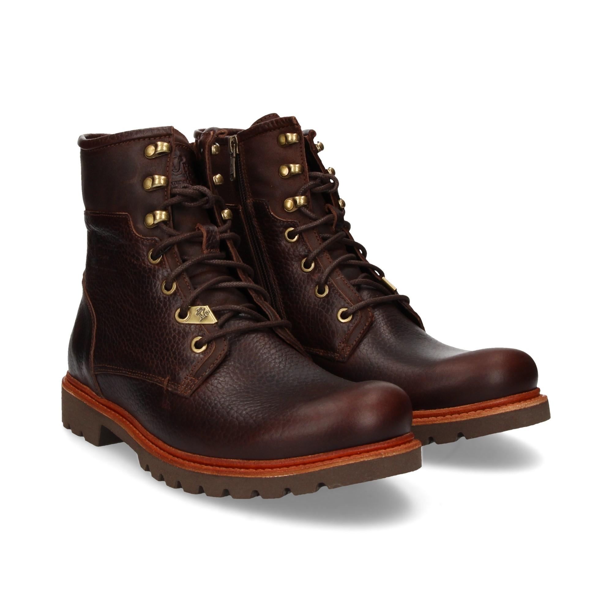 269cf1a821b0da PANAMA JACK Men s Ankle Boots BARKLEY C8 NAPA MARRON
