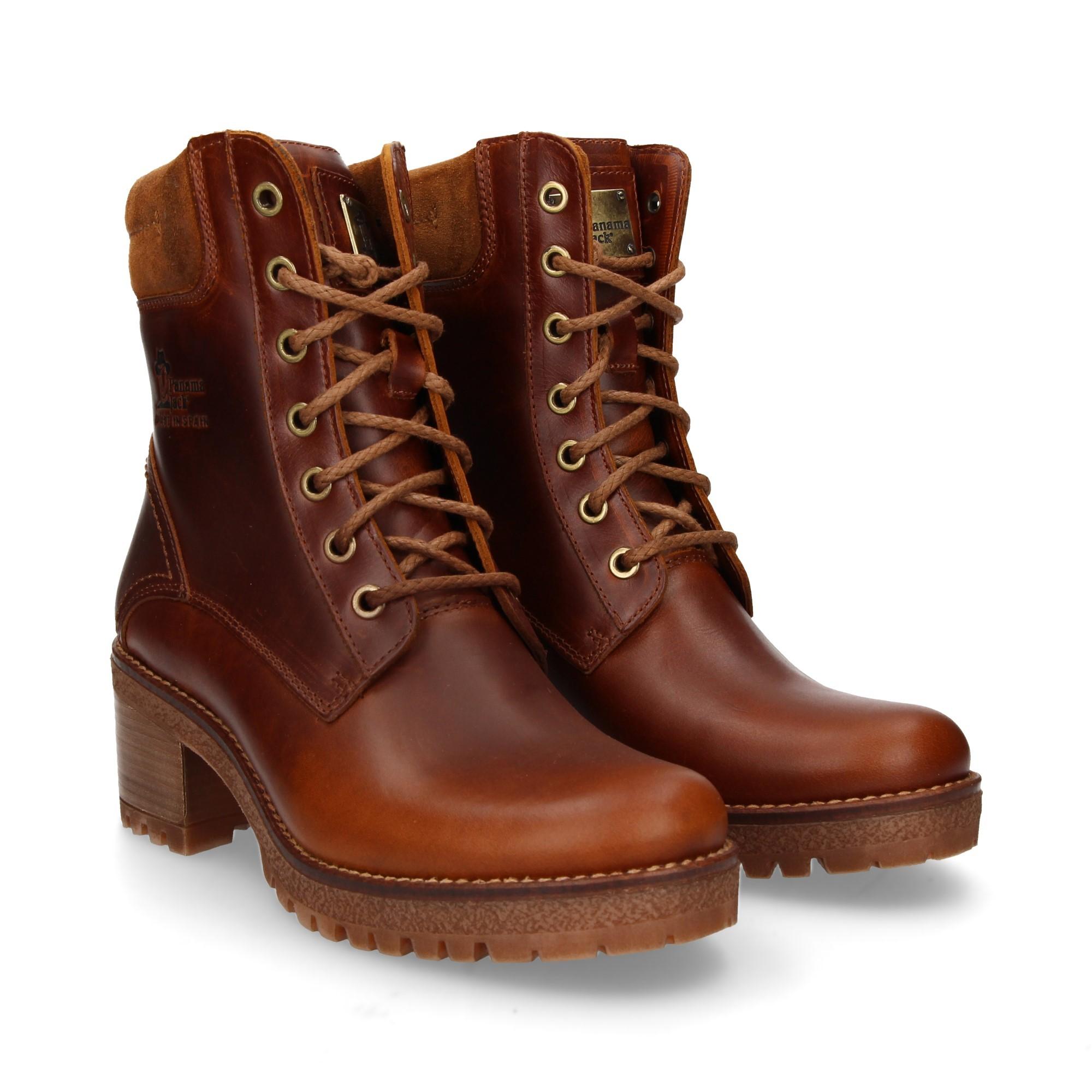 22219bfbc63a2 PANAMA JACK Women s Heeled ankle boots PHOEBE B14 NAPA CUERO