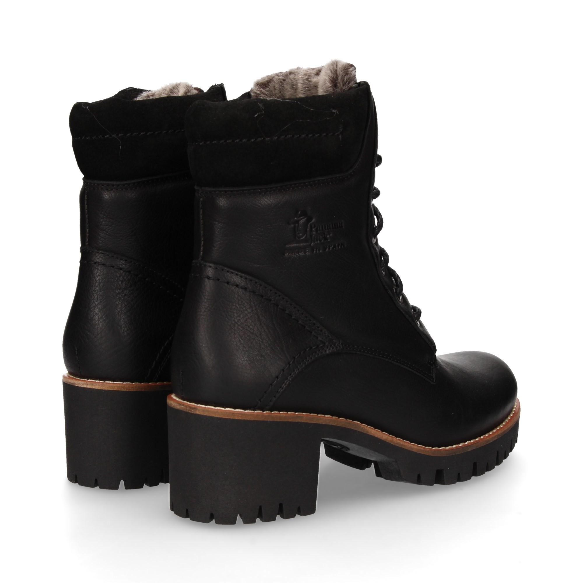 58d413aa67600 PANAMA JACK Women s Heeled ankle boots PHOEBE B17 NAPA NEGRO