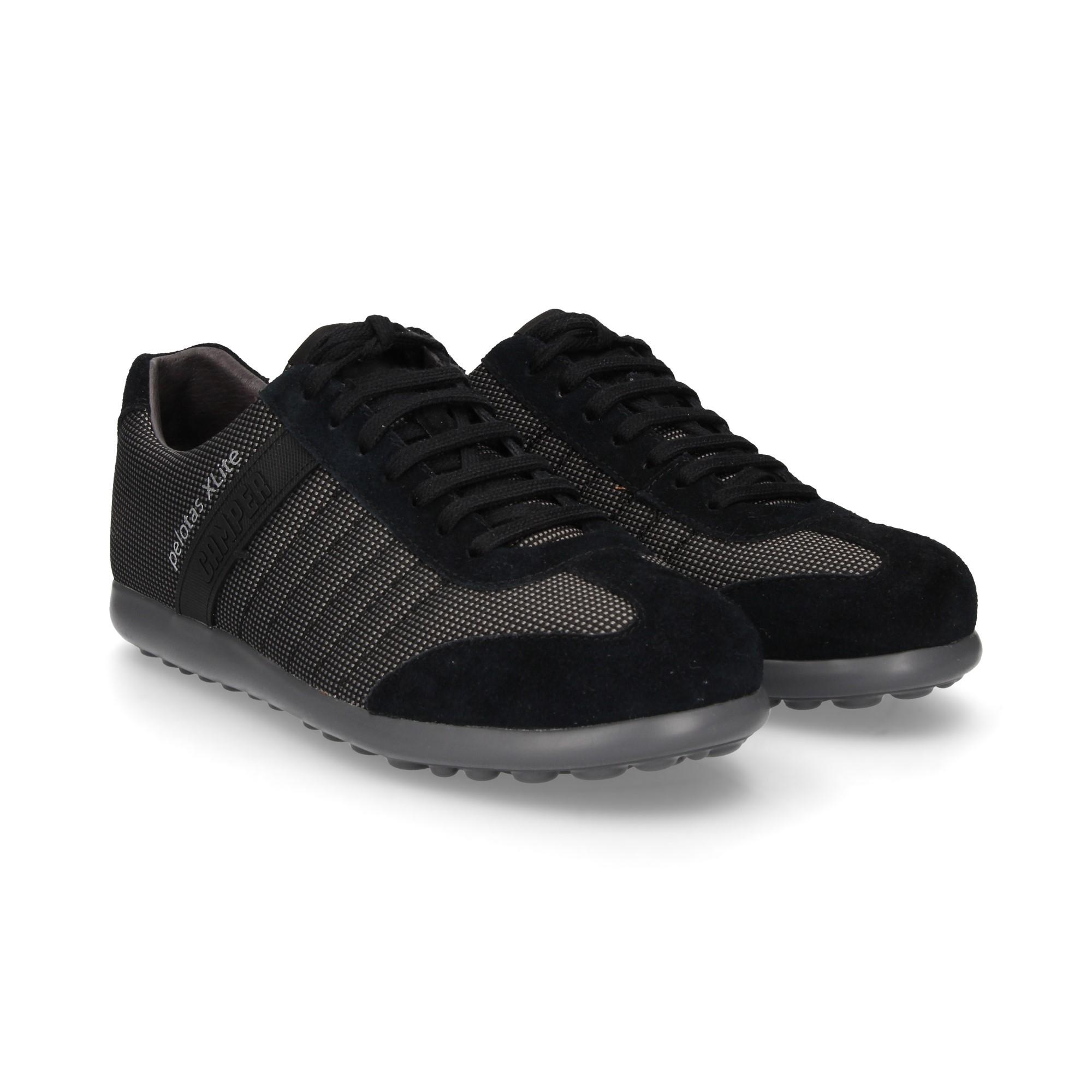 pretty nice cf5df dd285 ... venas-lados-deportivo-textil-negro ...