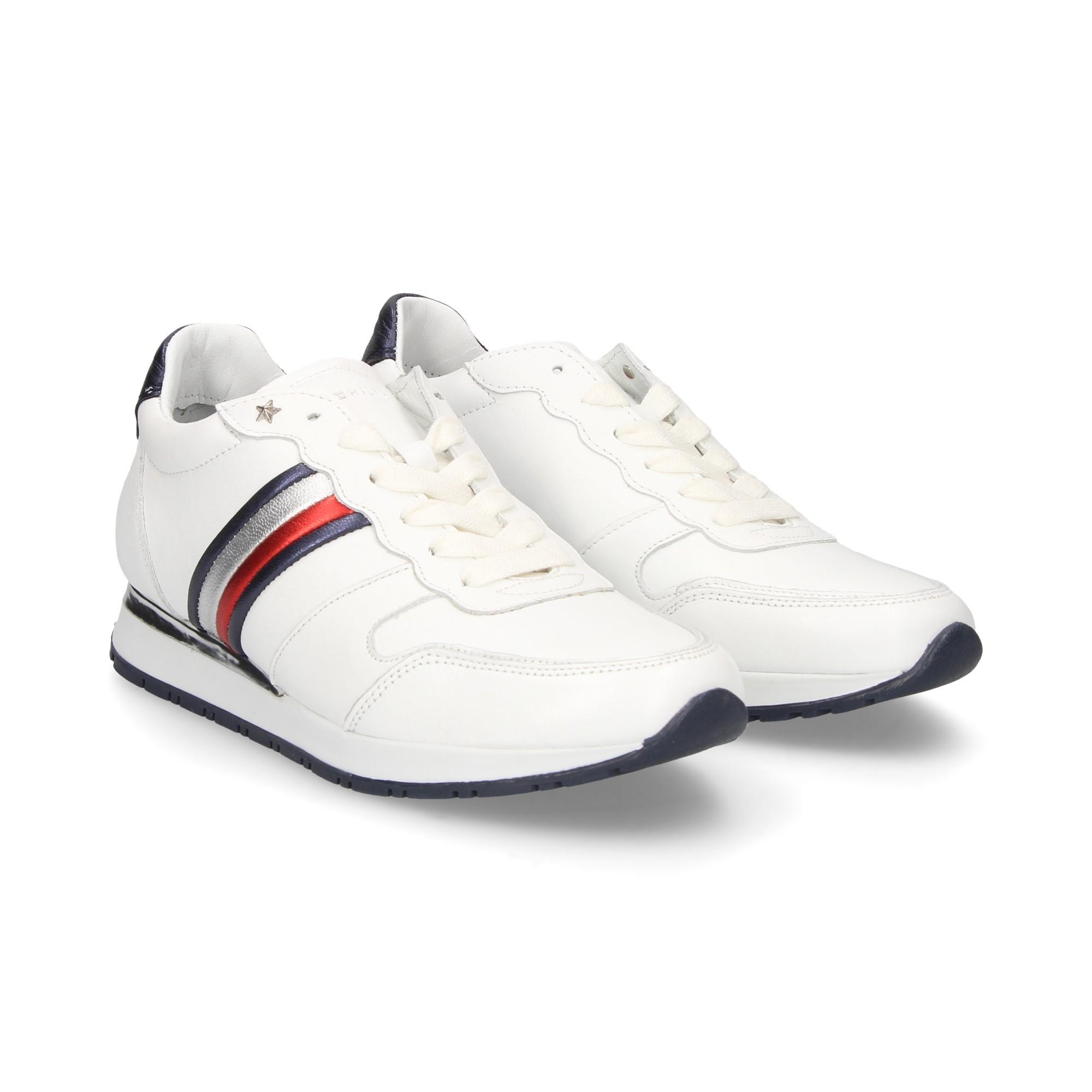 17ec79449ea TOMMY HILFIGER Women's Sneakers FW03227020 RWB