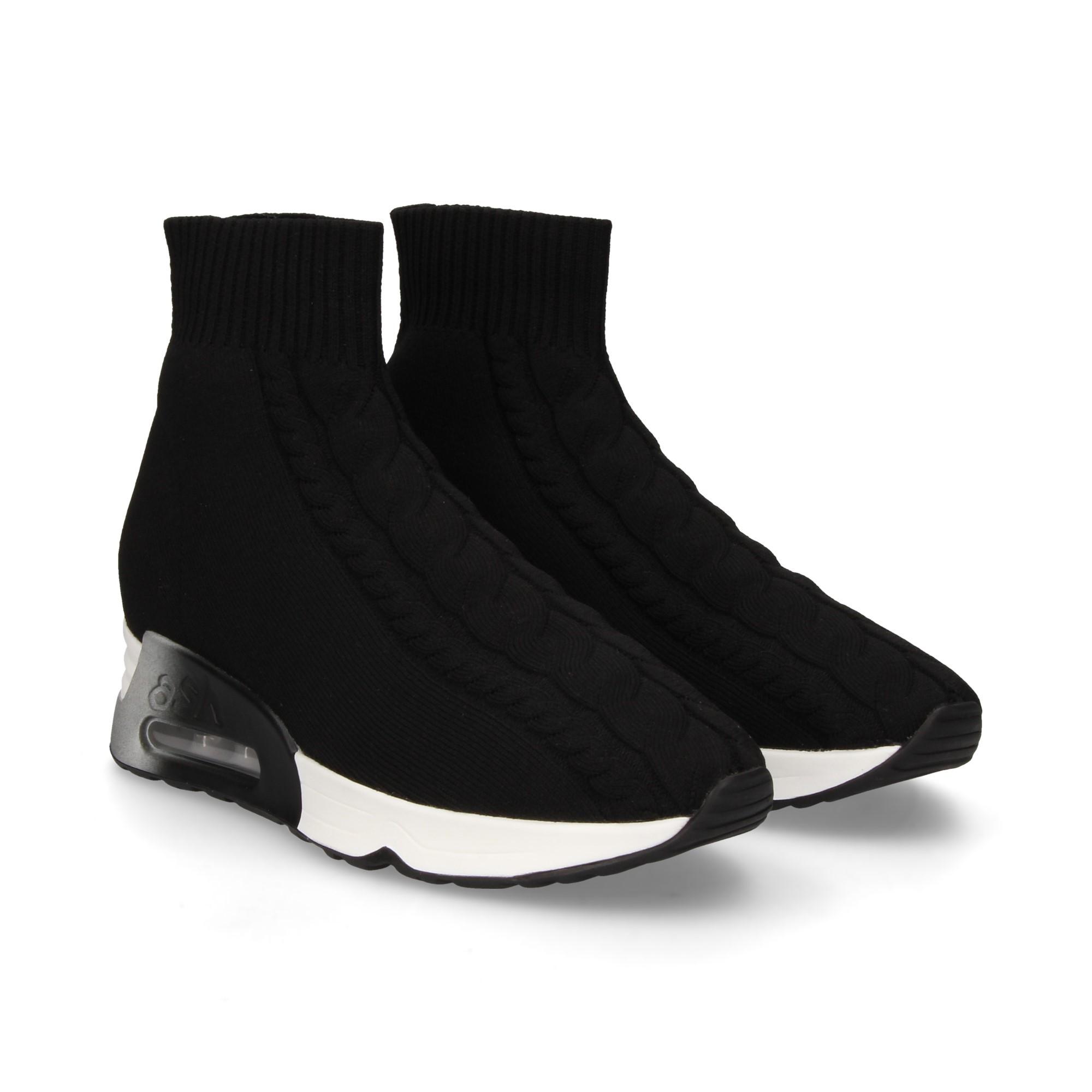 ASH Women's Sneakers LIVING BLACK NEGRO