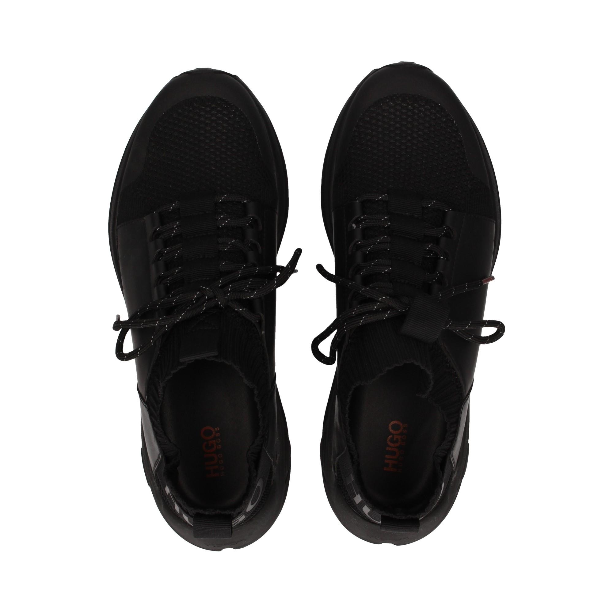 calcetin-acordonado-nylon-piel-negro