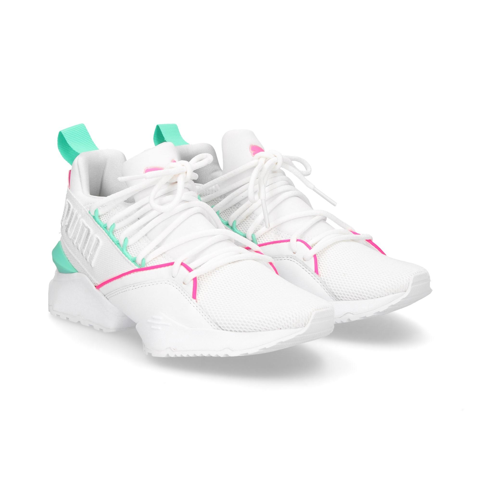 PUMA Chaussures de sport pour femmes 367355 02 BLANCO