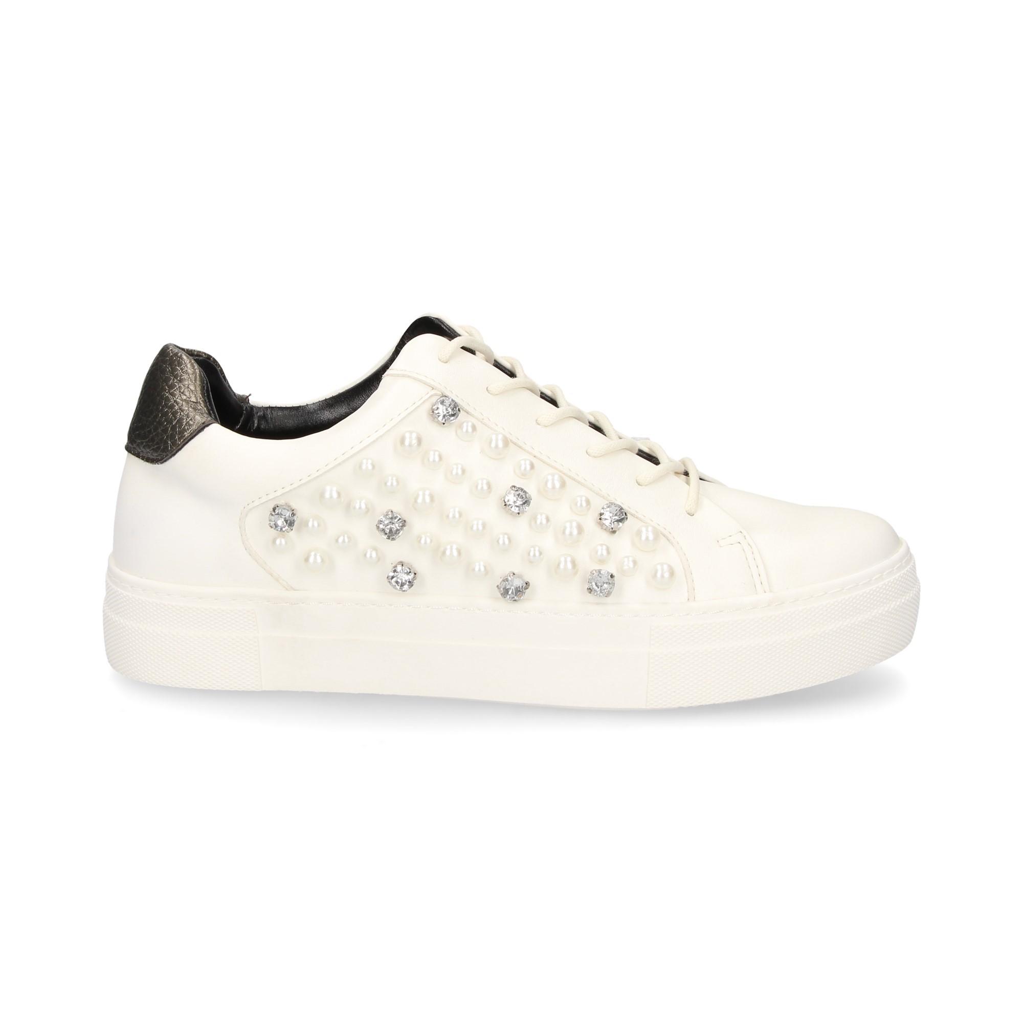 TWINSET Chaussures de sport pour femmes DA8PBS 808 ICE