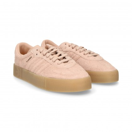 SPORT 3 STRIPES SUEDE PINK