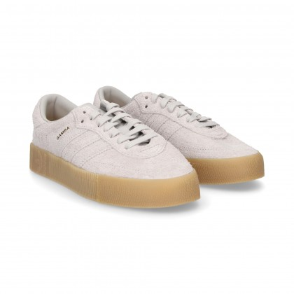 SPORT 3 STRIPES GREY SUEDE