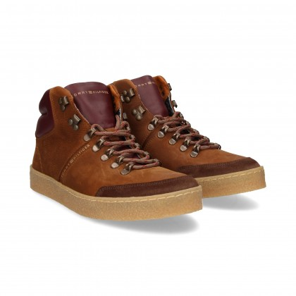 SPORTS BOOTS SUEDE BROWN