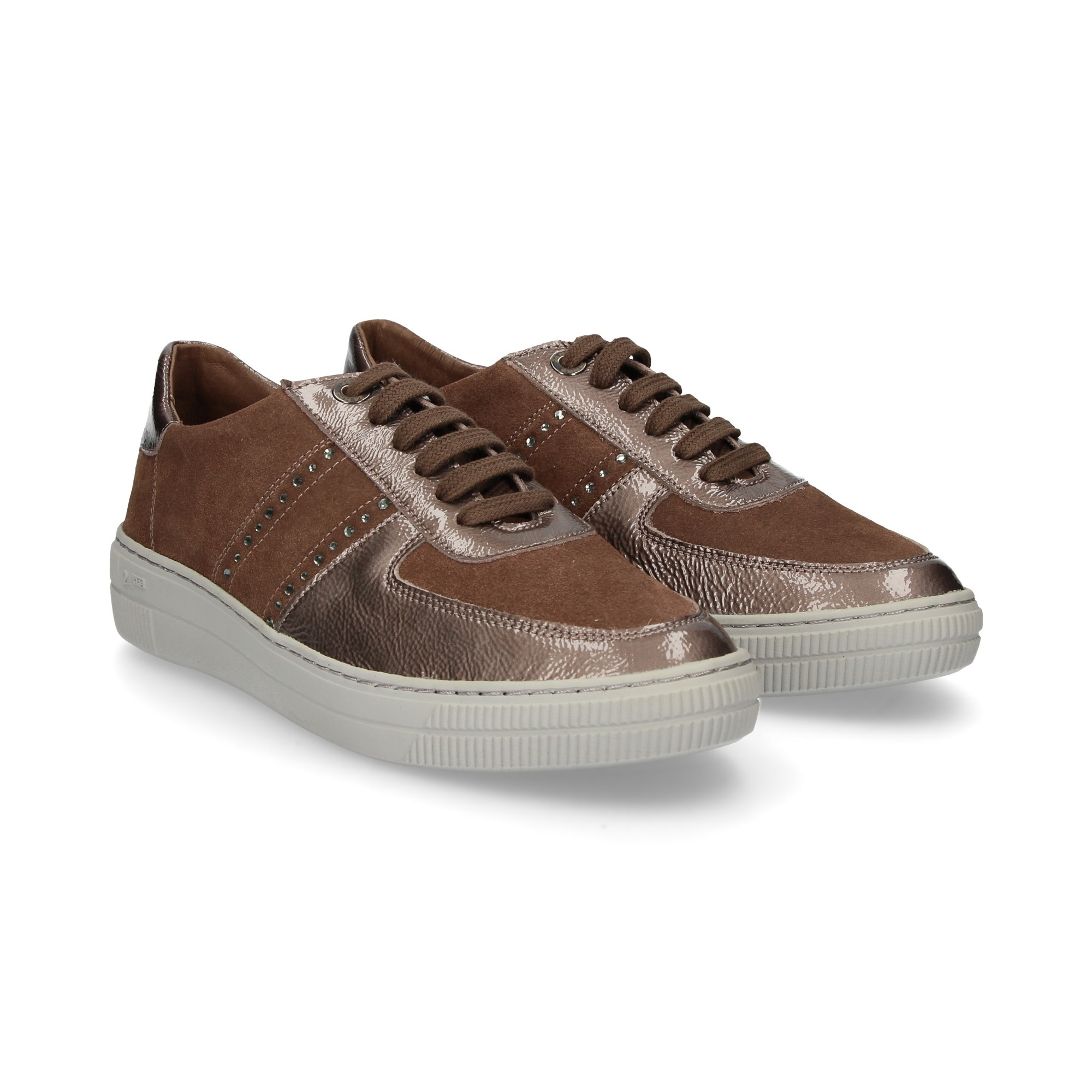 Mujer 24 Taupe Horas 23888 De Zapatillas wtZT1nqt7x