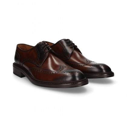CHOPPED BLUCHER FLORENTIC LEATHER
